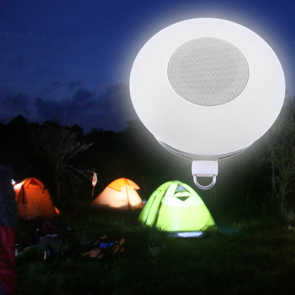 Portable Lamp With Bluetooth/FMradio Speakers