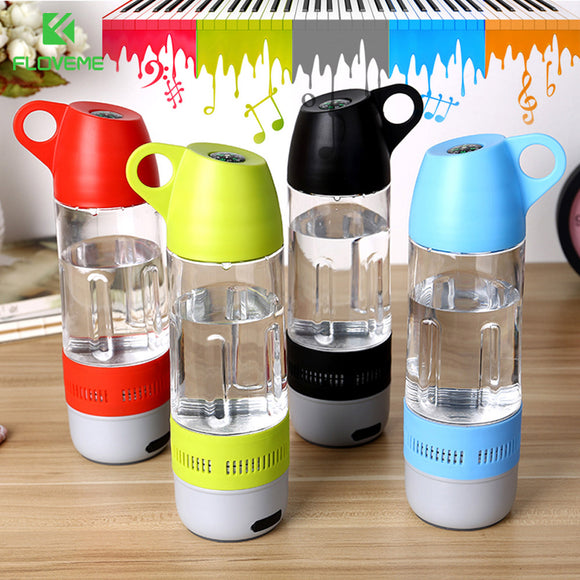 Unique Bluetooth water bottle+Speaker