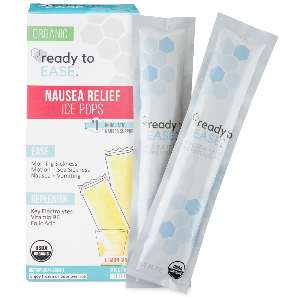 ready to Ease- Nausea Relief Ice Pop for keto flu relief
