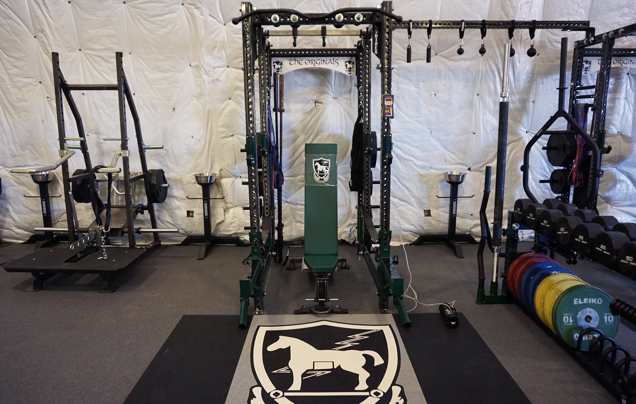 10th SFG weight room