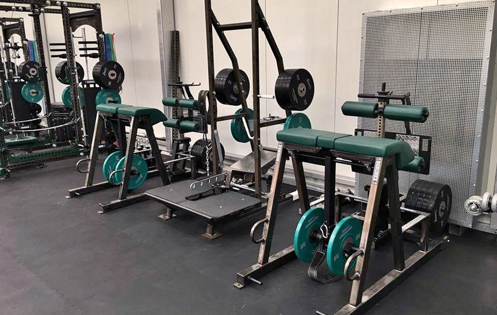 military weight rooms