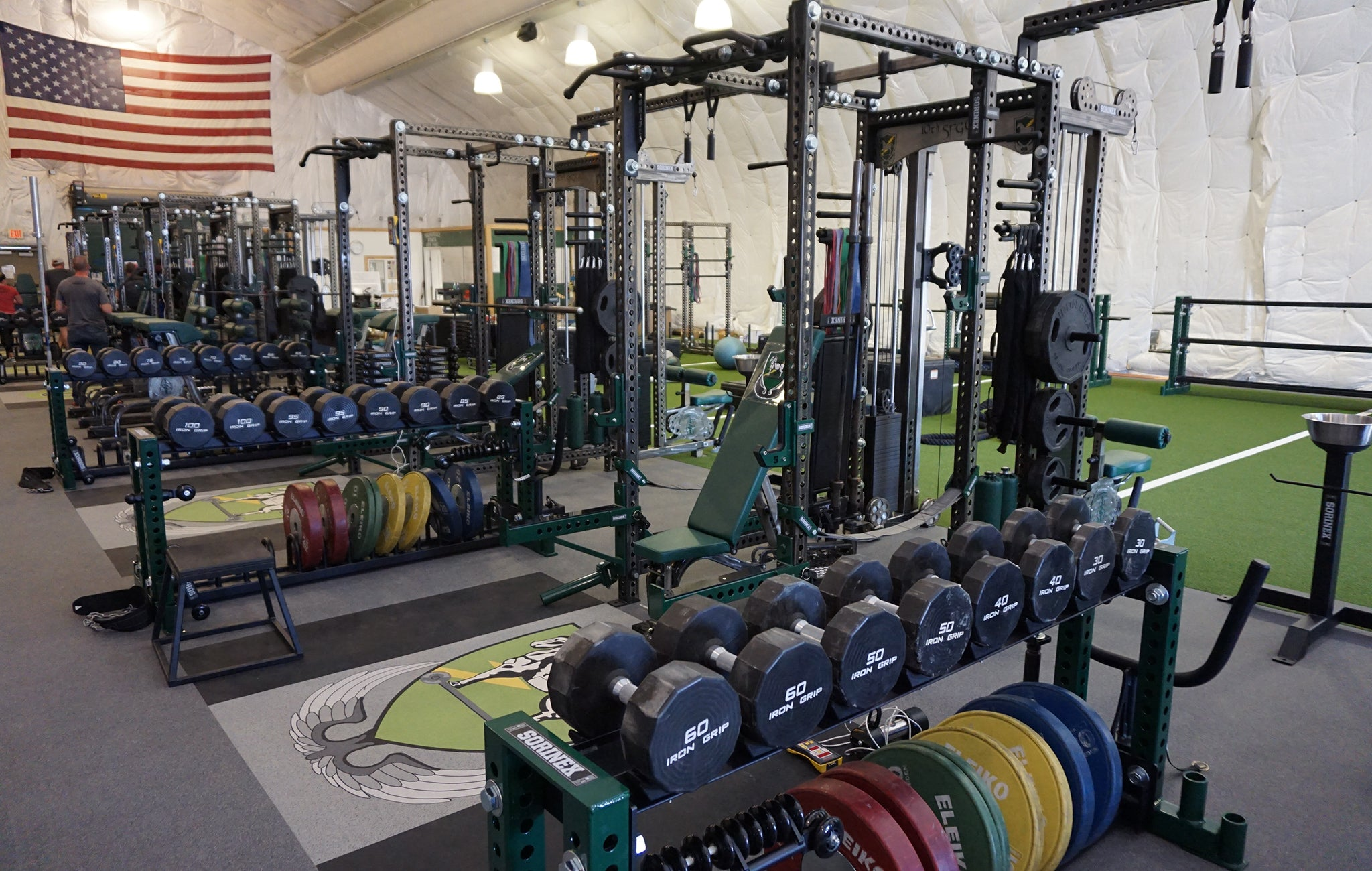 10th SFG Military Weight Room
