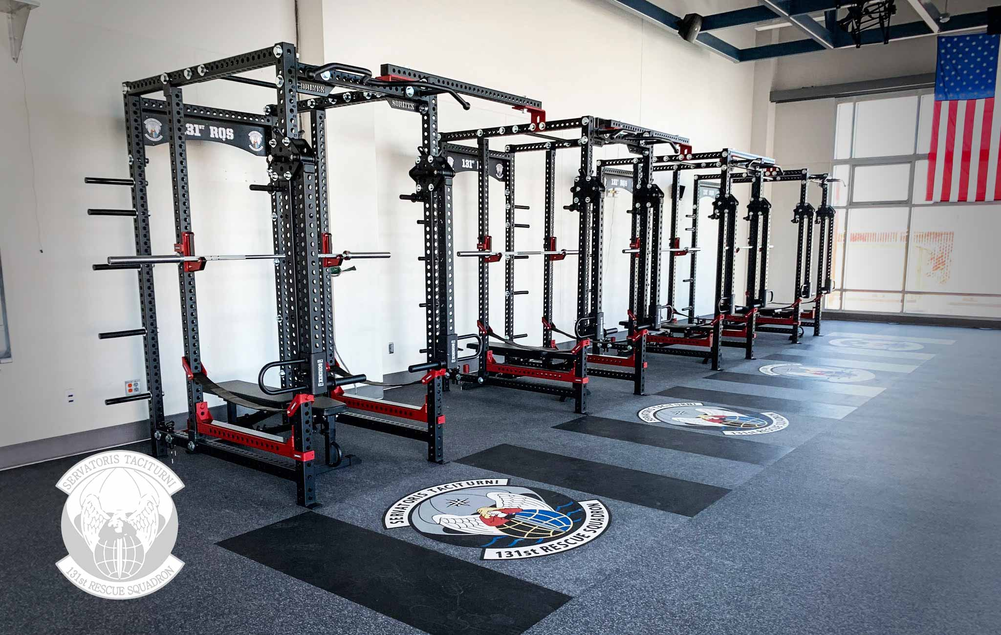 131 RQS Sorinex strength and conditioning facility