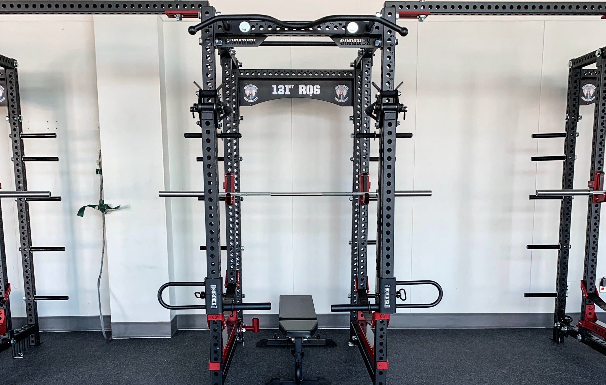 131 RQS weight room