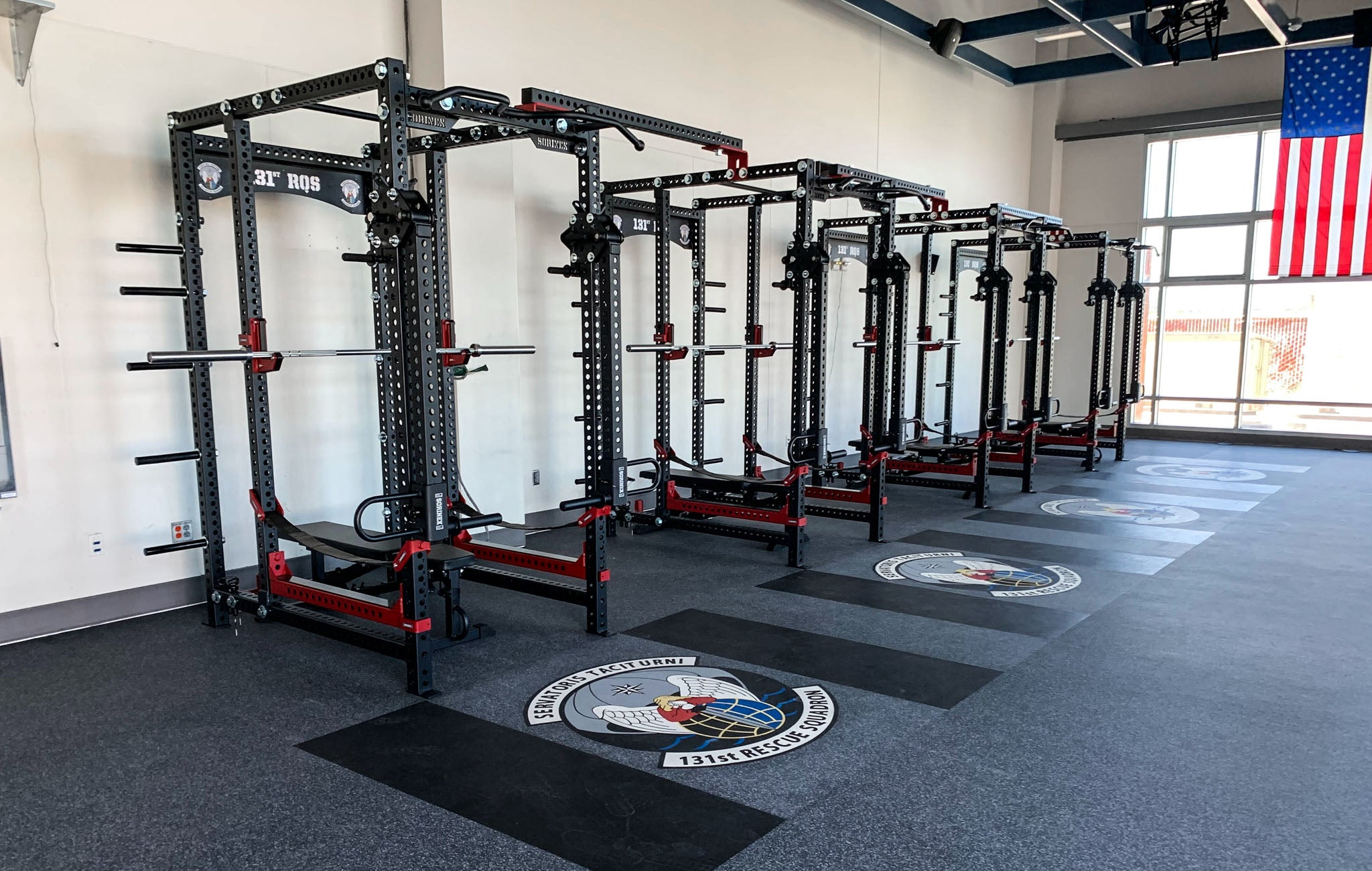 131 RQS Military Weight Room