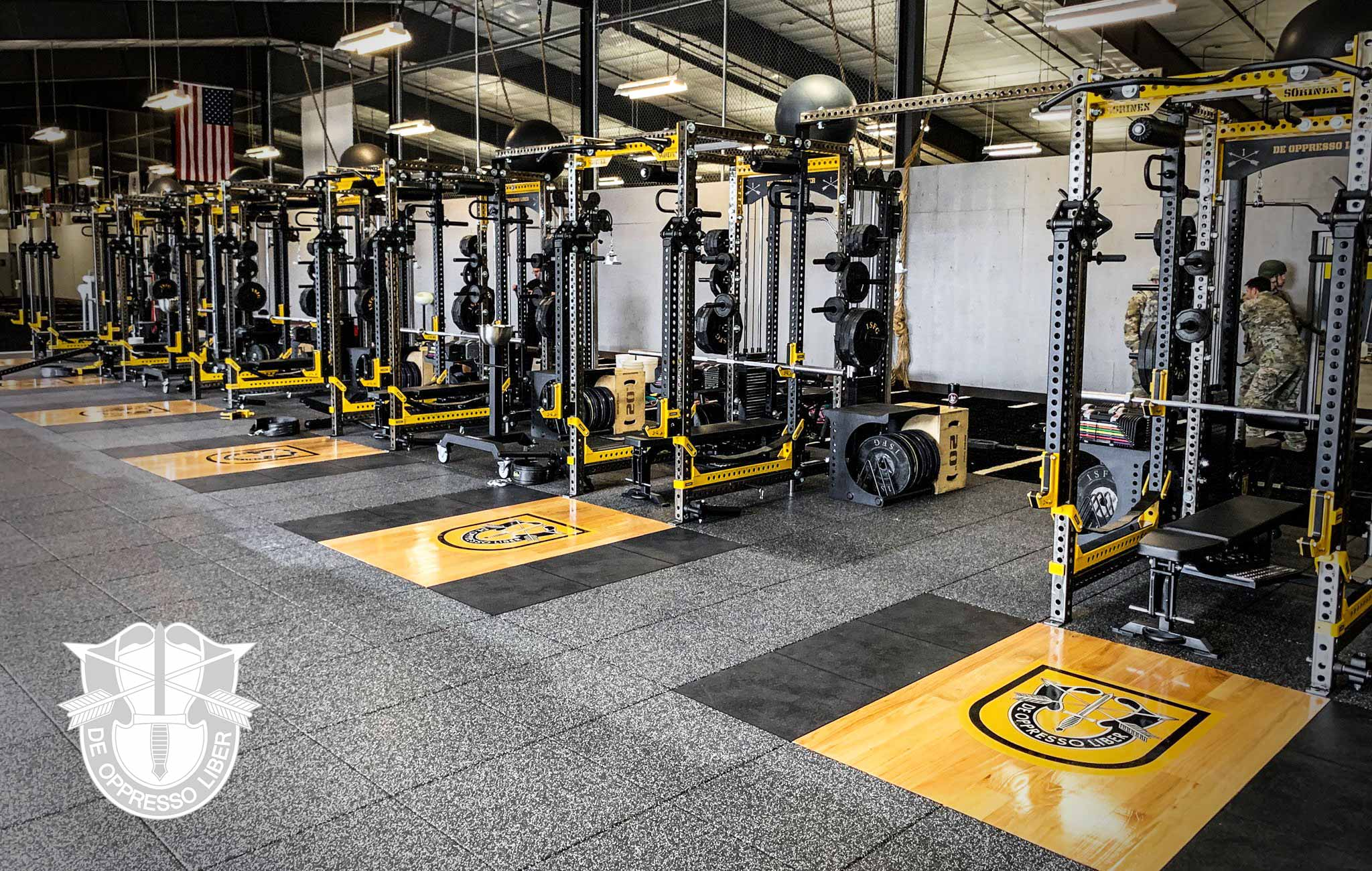 1st SFG Sorinex strength and conditioning facility