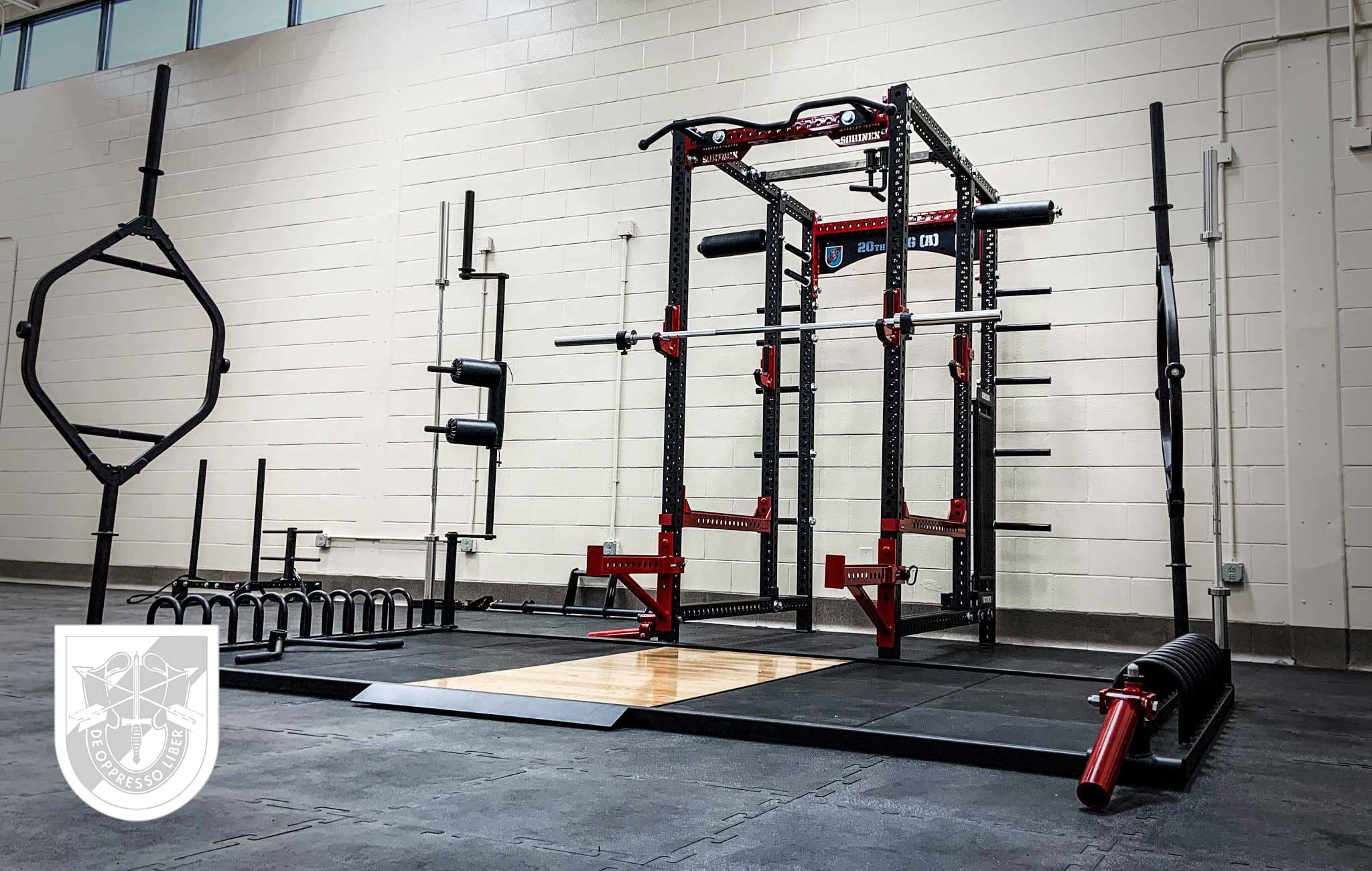 20th SFG Sorinex strength and conditioning facility