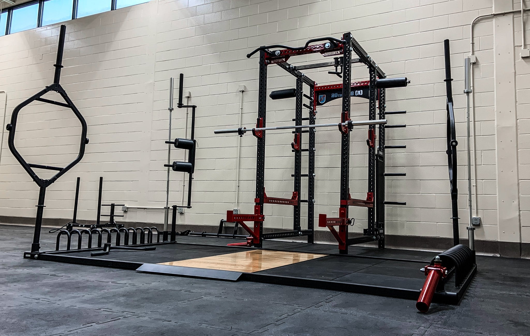 20th SFG Military Weight Room