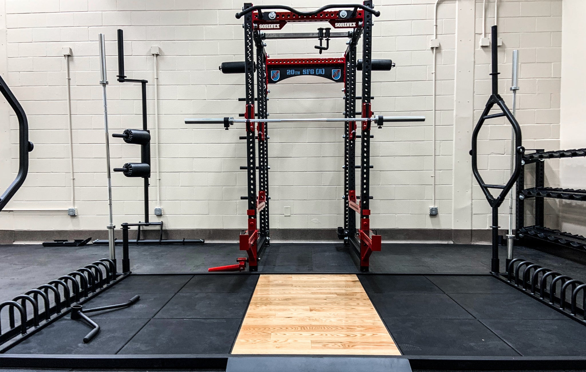 20th SFG weight room