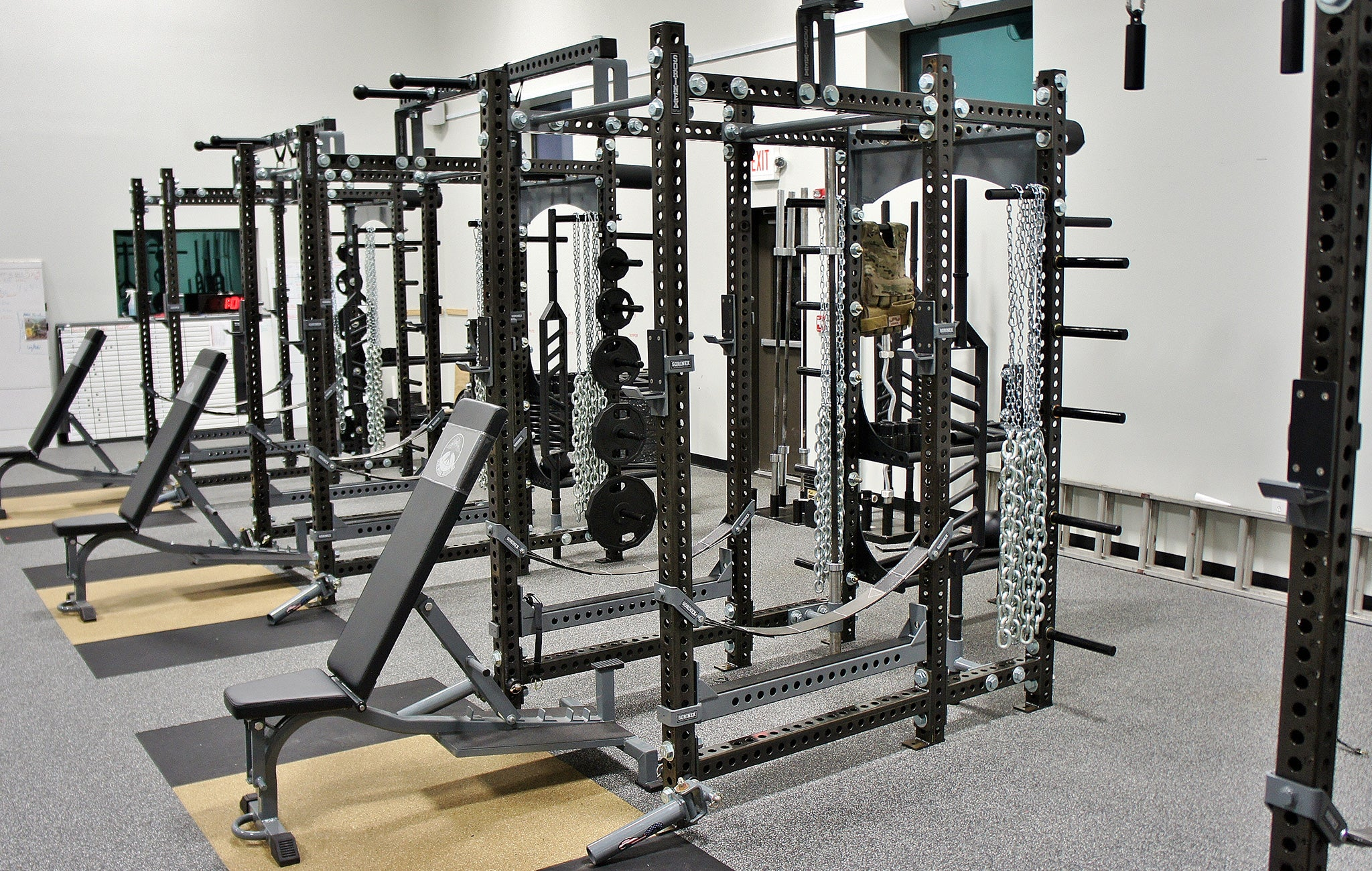 AFSOC Pope AAF Military Weight room