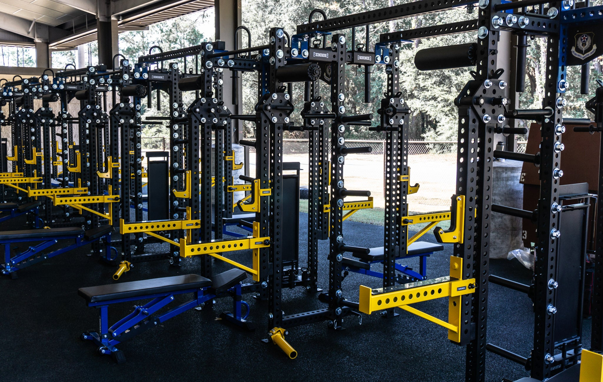 AFSOC weight room