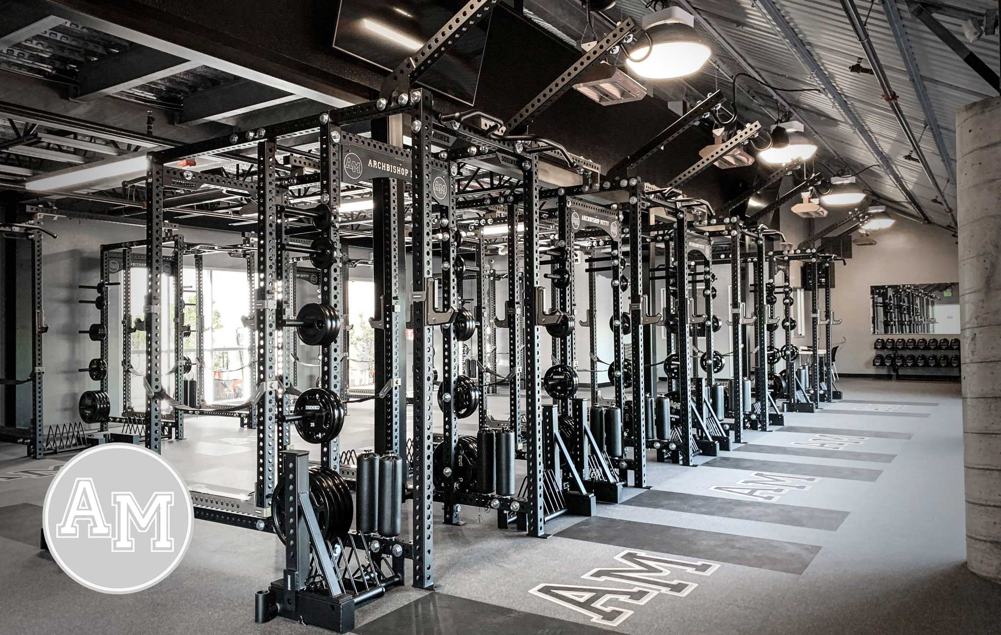 Archbishop Mitty High School Sorinex strength and conditioning facility
