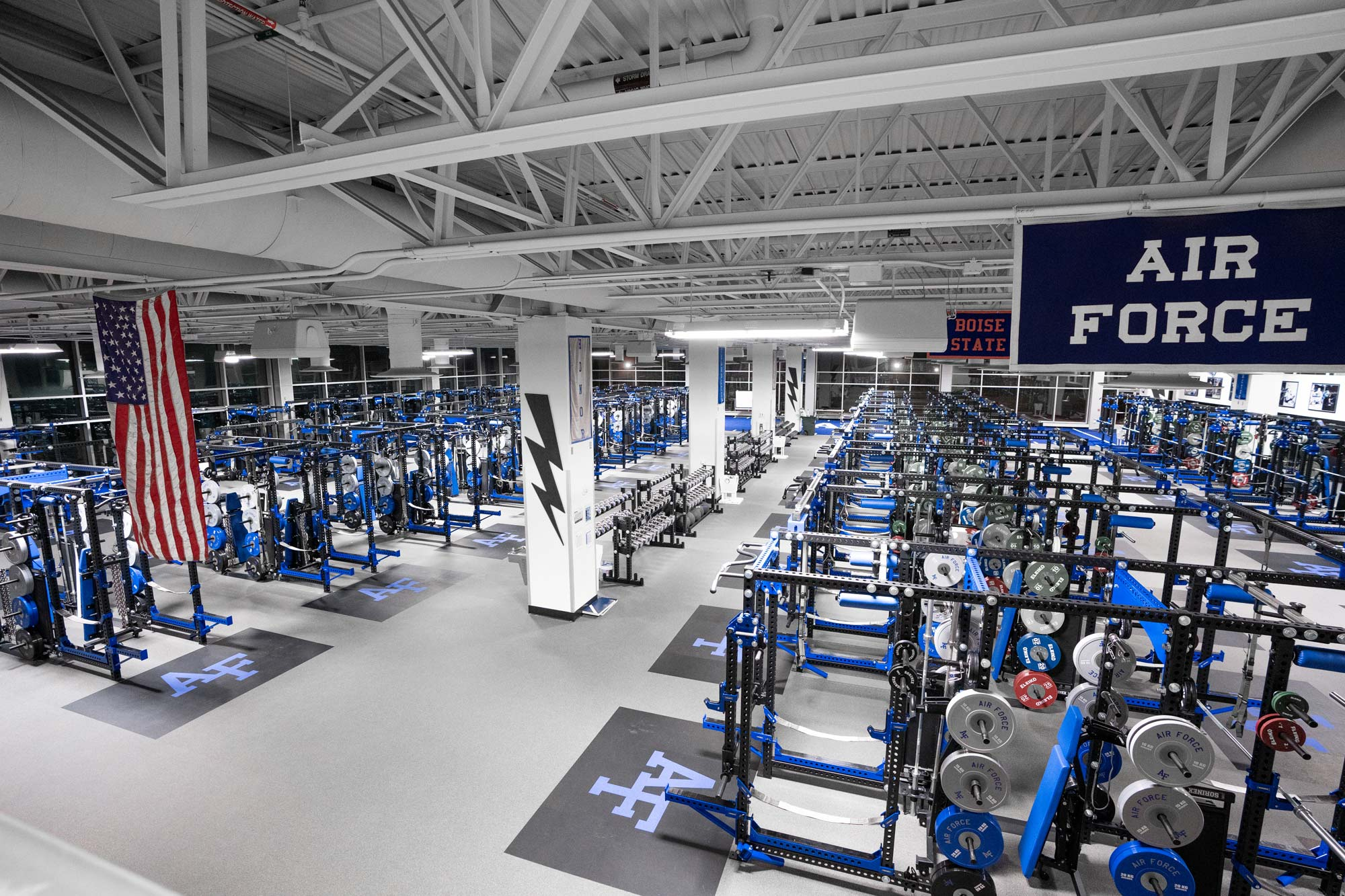 Air Force Academy Sorinex weight room