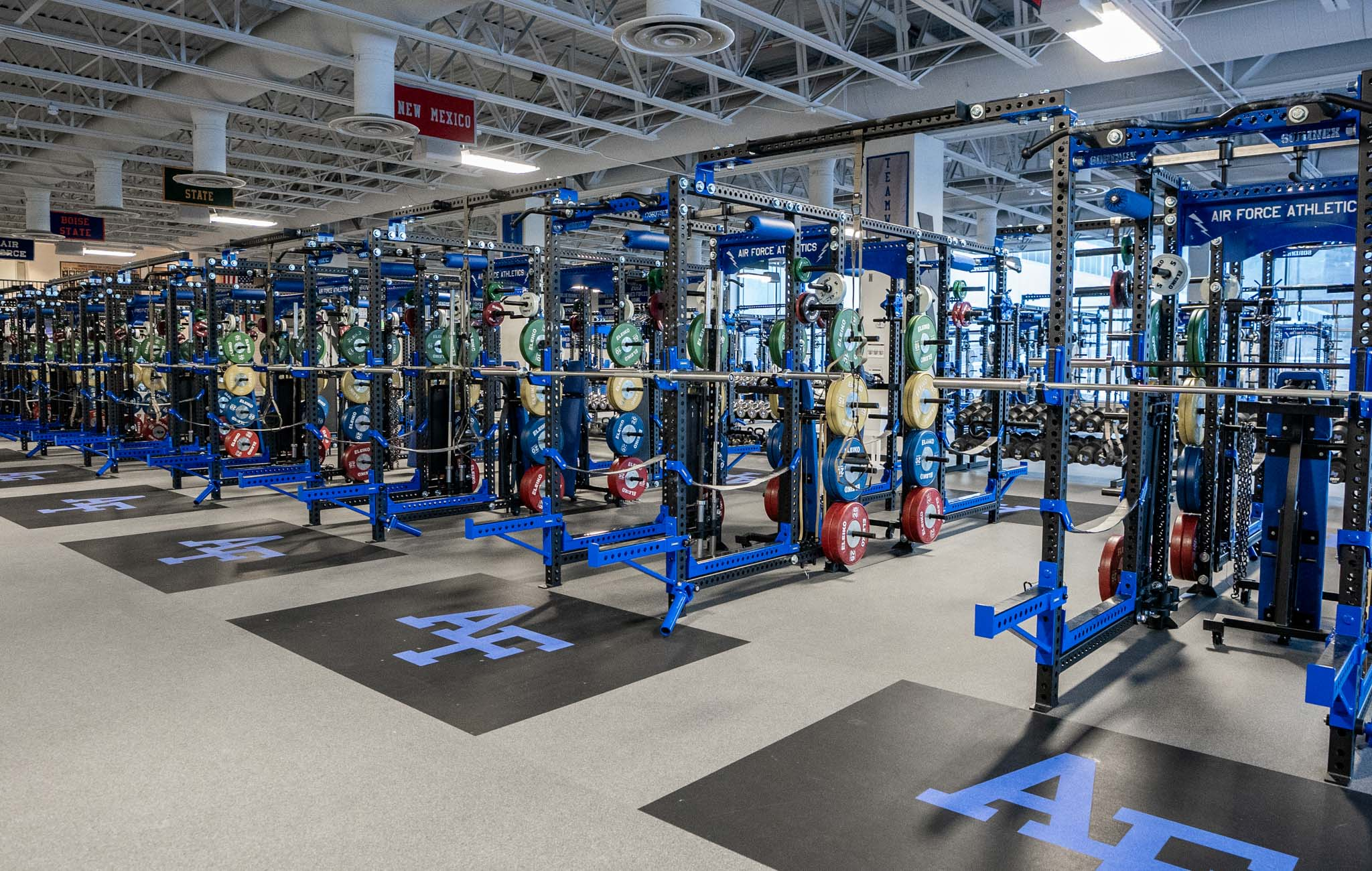 Air Force Academy Strength and Conditioning