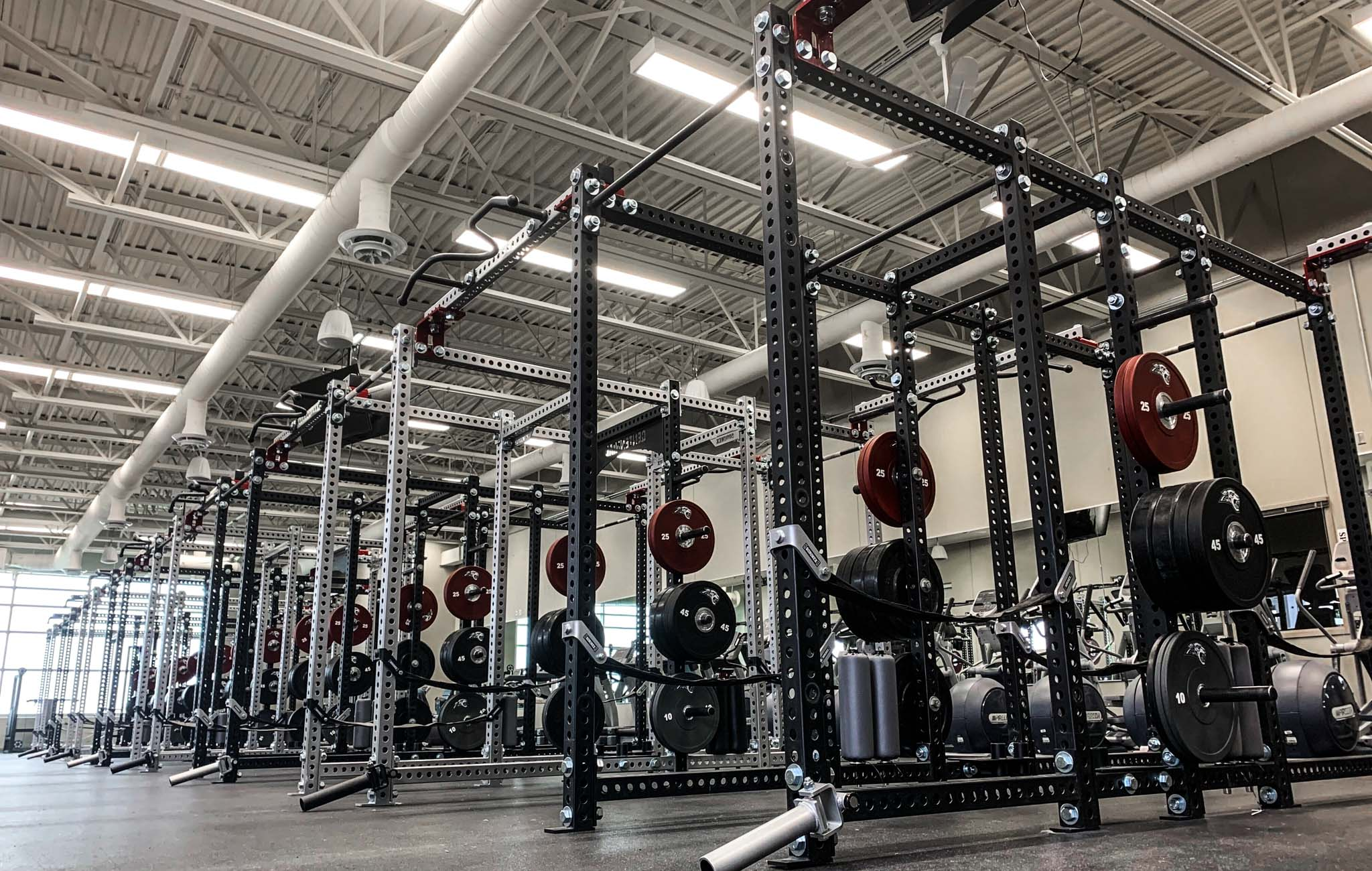 Ankeny Centennial High School Weight Room