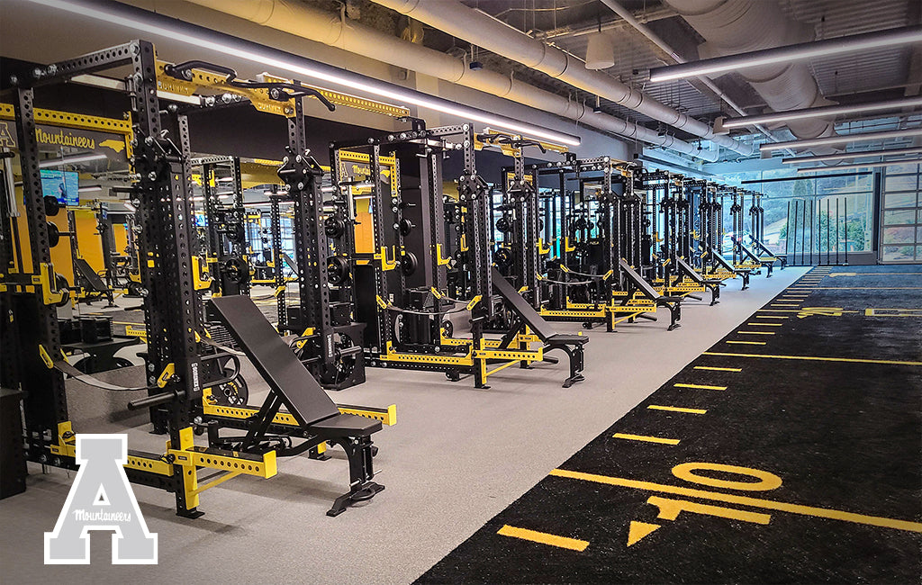 Appalachian State Sorinex strength and conditioning facility