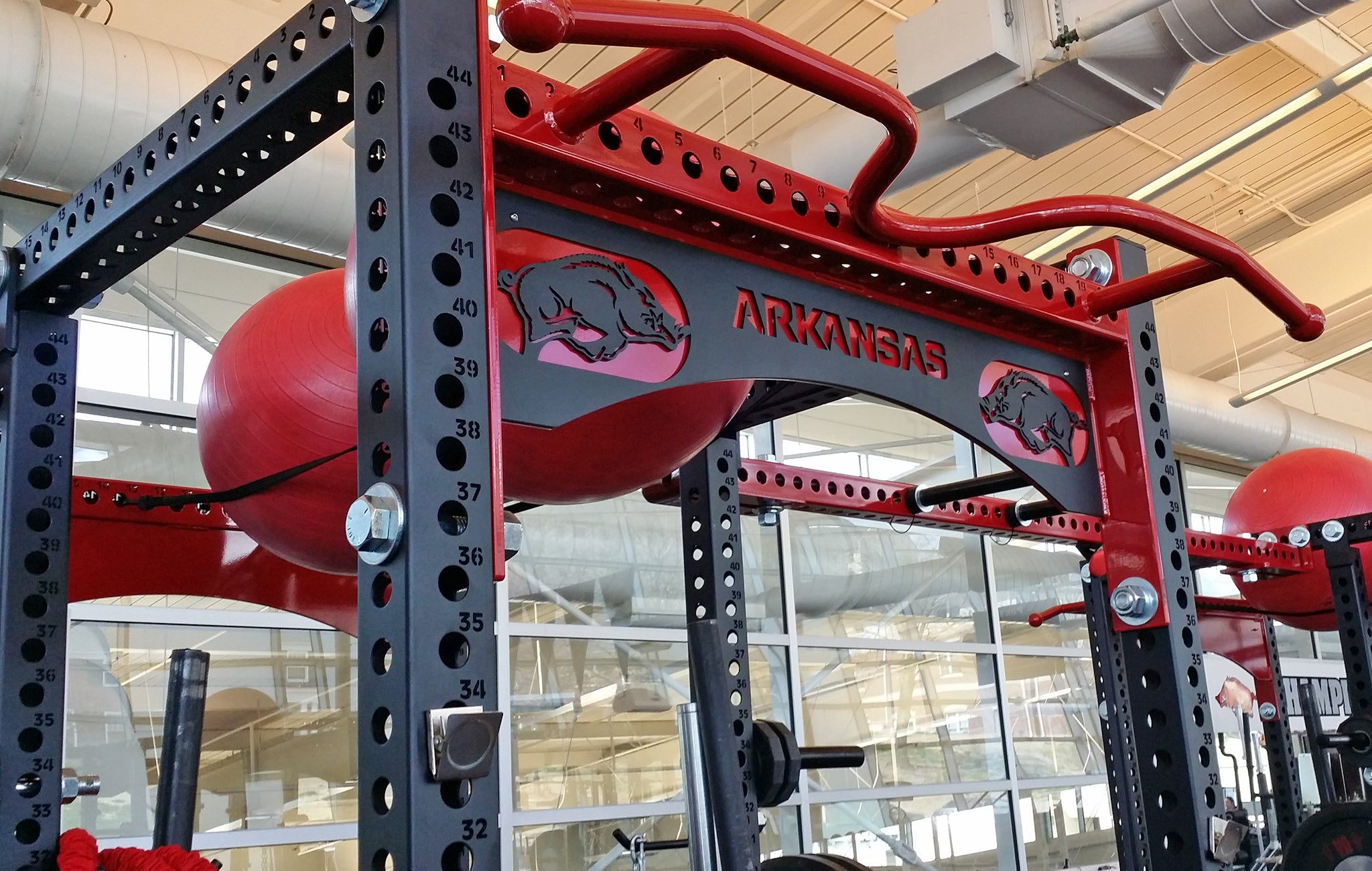 Arkansas weight room
