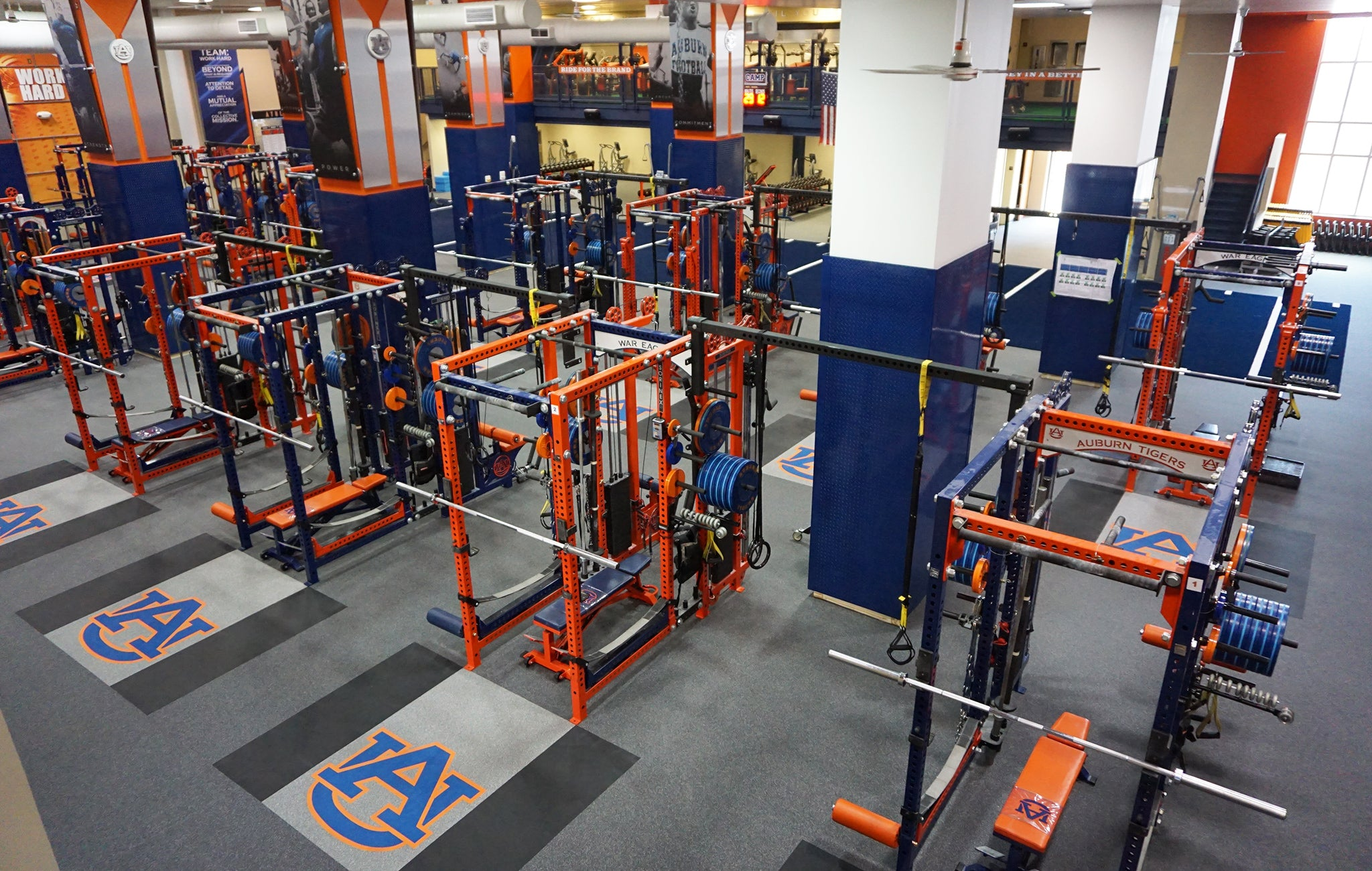 Auburn Weight Room