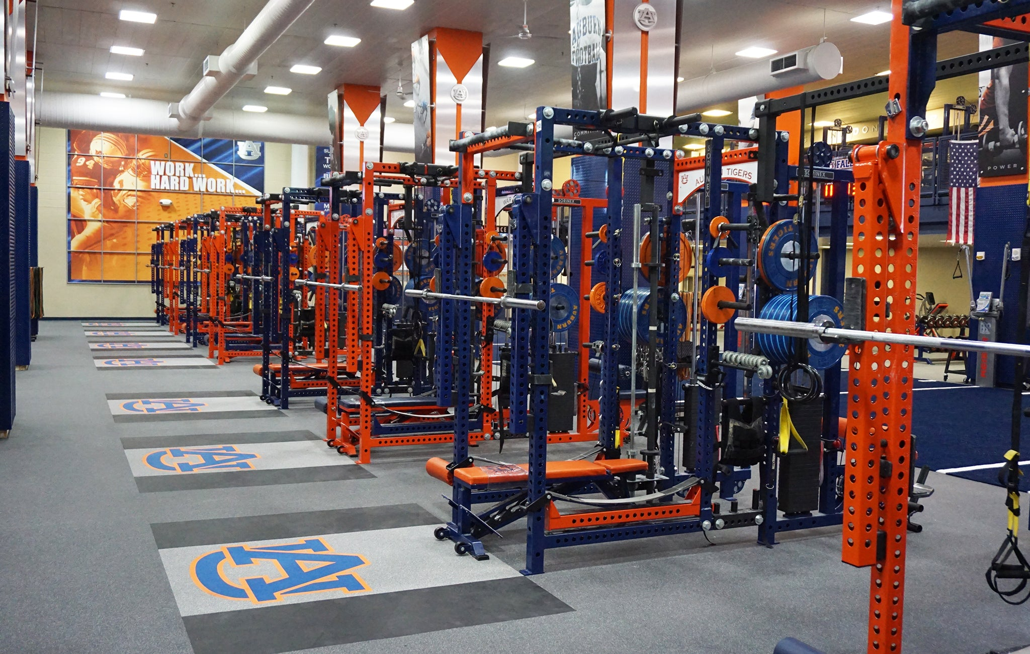 Auburn strength and conditioning