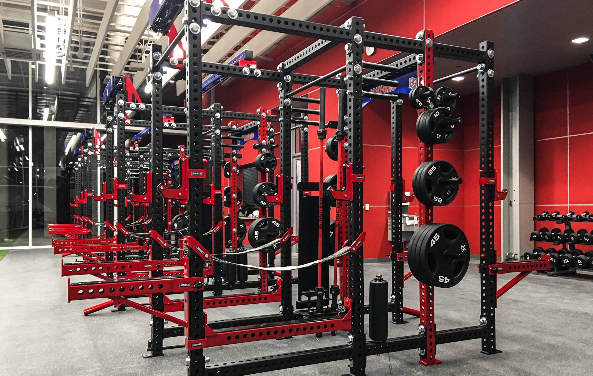 Bel Air High School strength and conditioning
