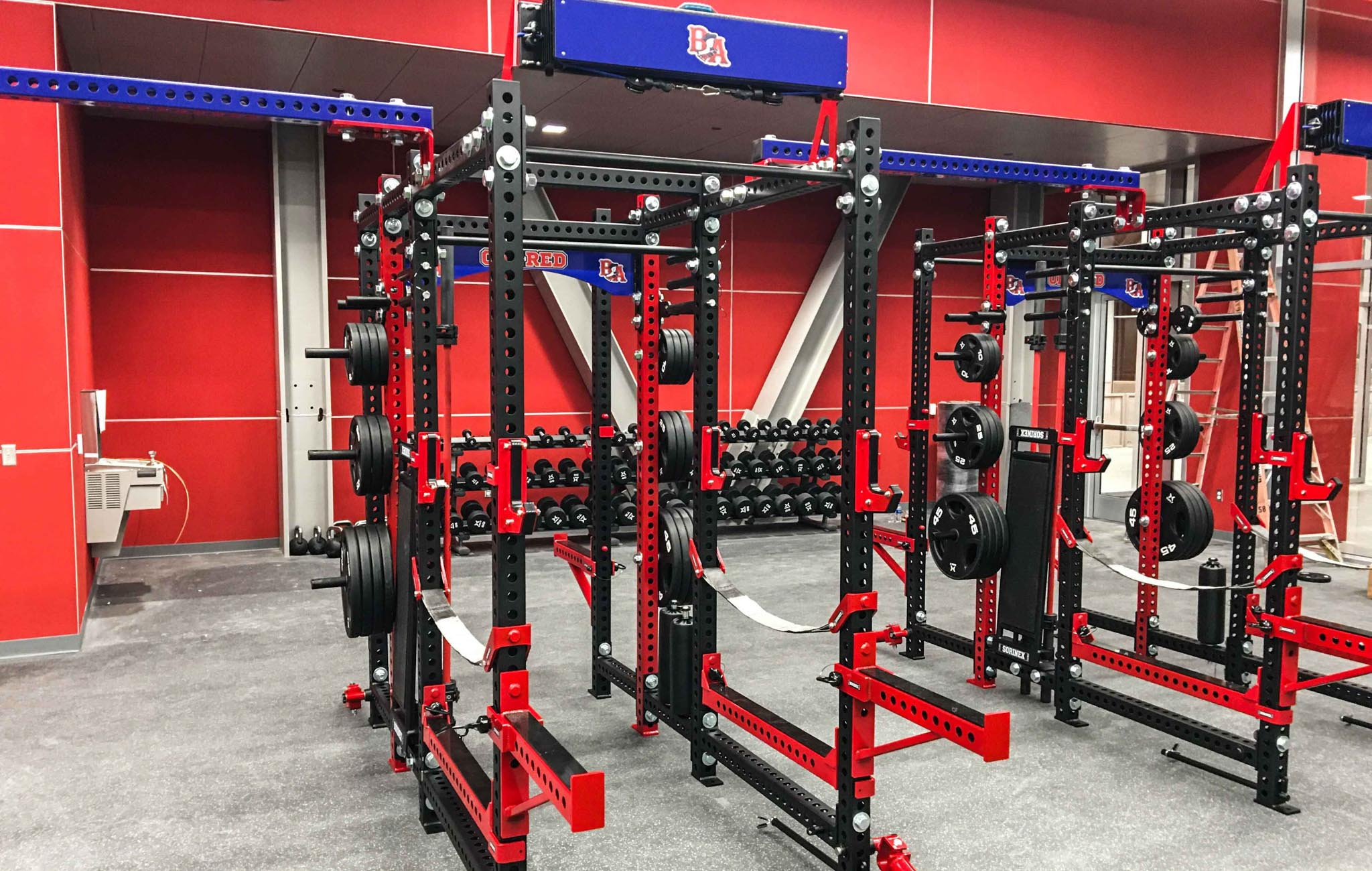 Bel Air High School Weight Room