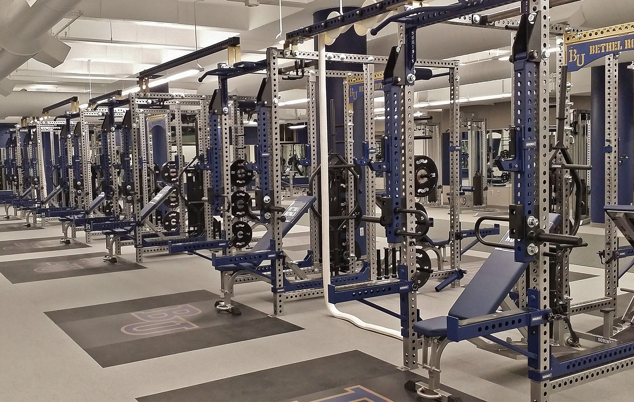 Bethel University Weight Room
