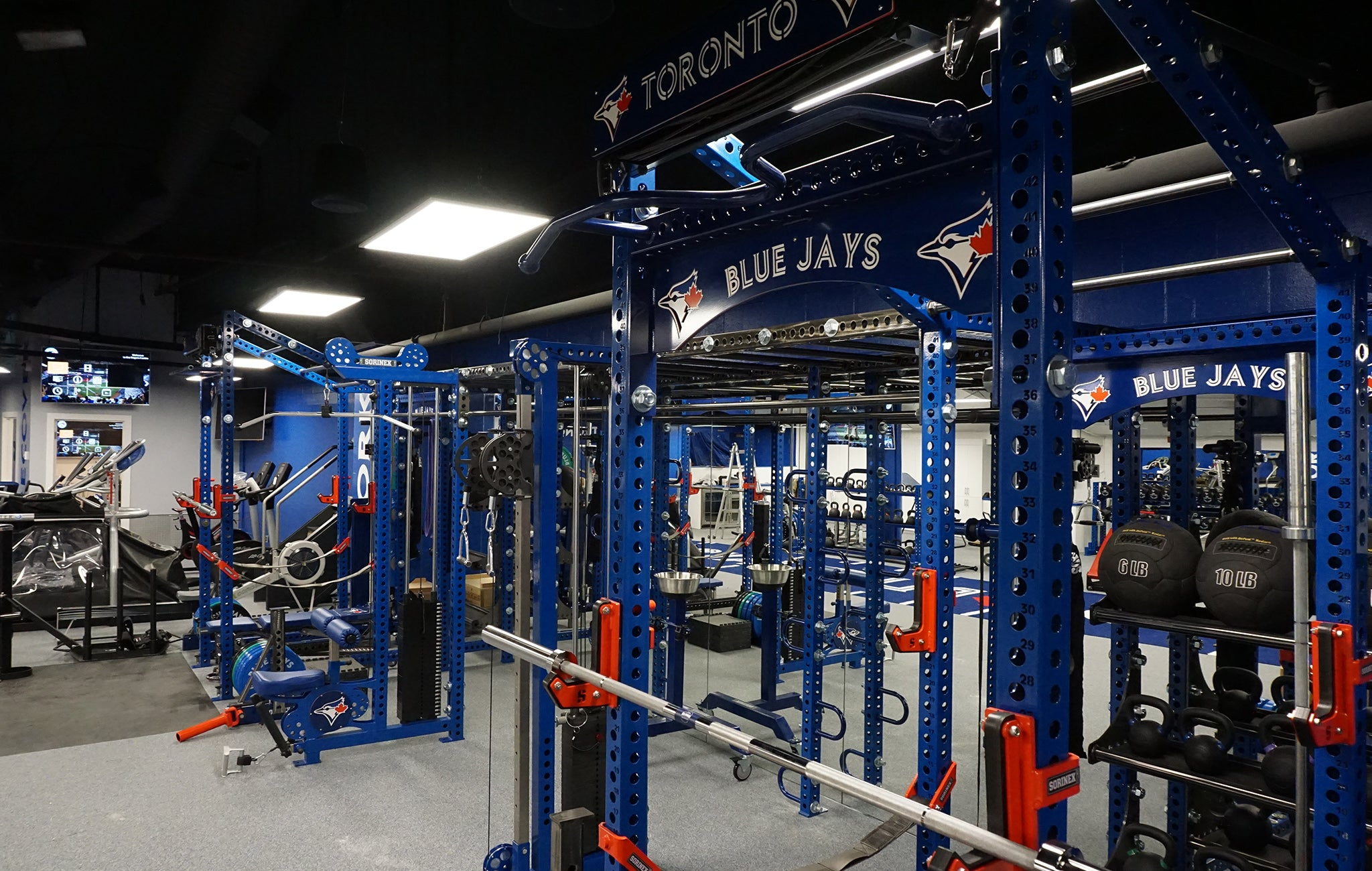 Toronto Blue Jays Weight Room