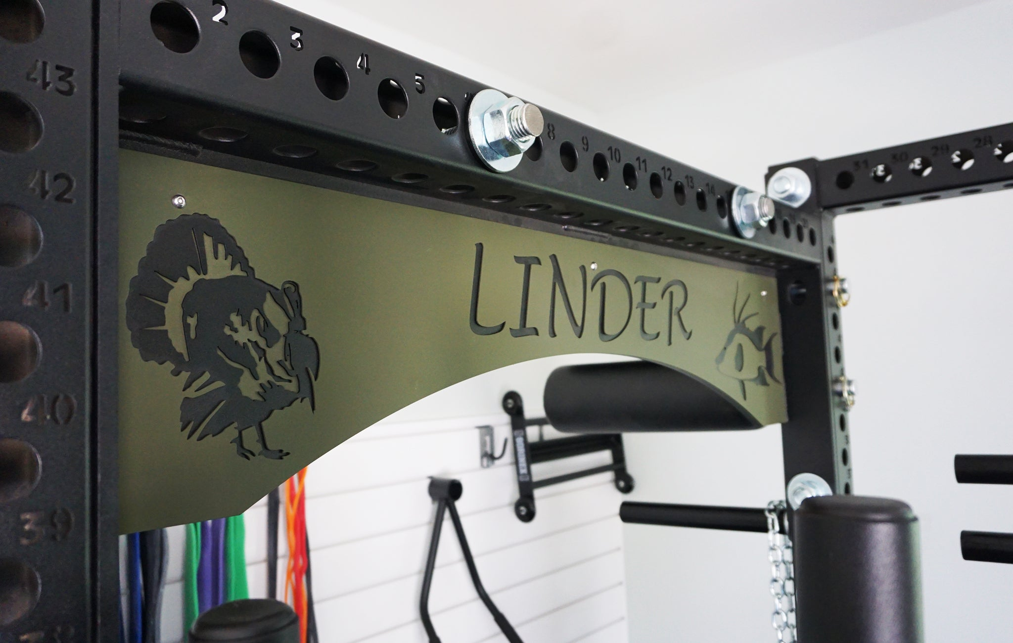 Brandon Linder Garage Gym