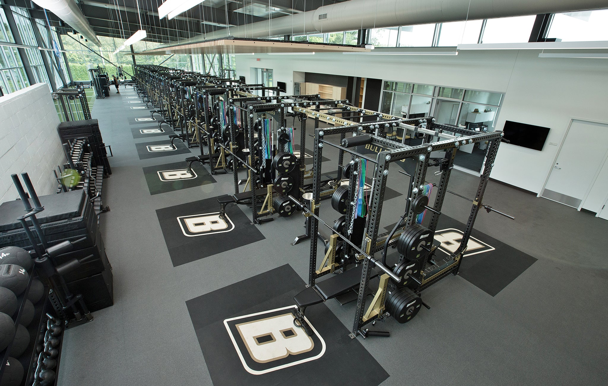 Bryant University Weight Room