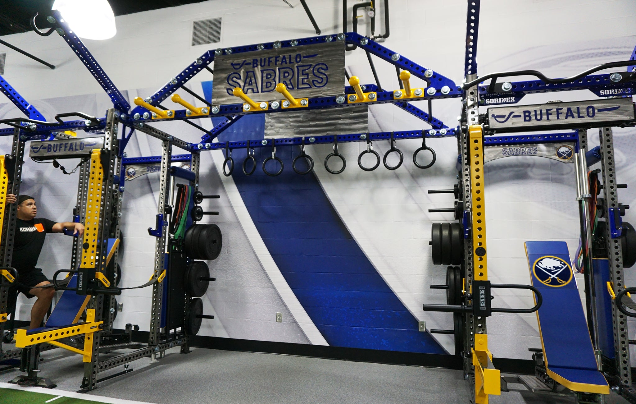 Buffalo Sabres strength training