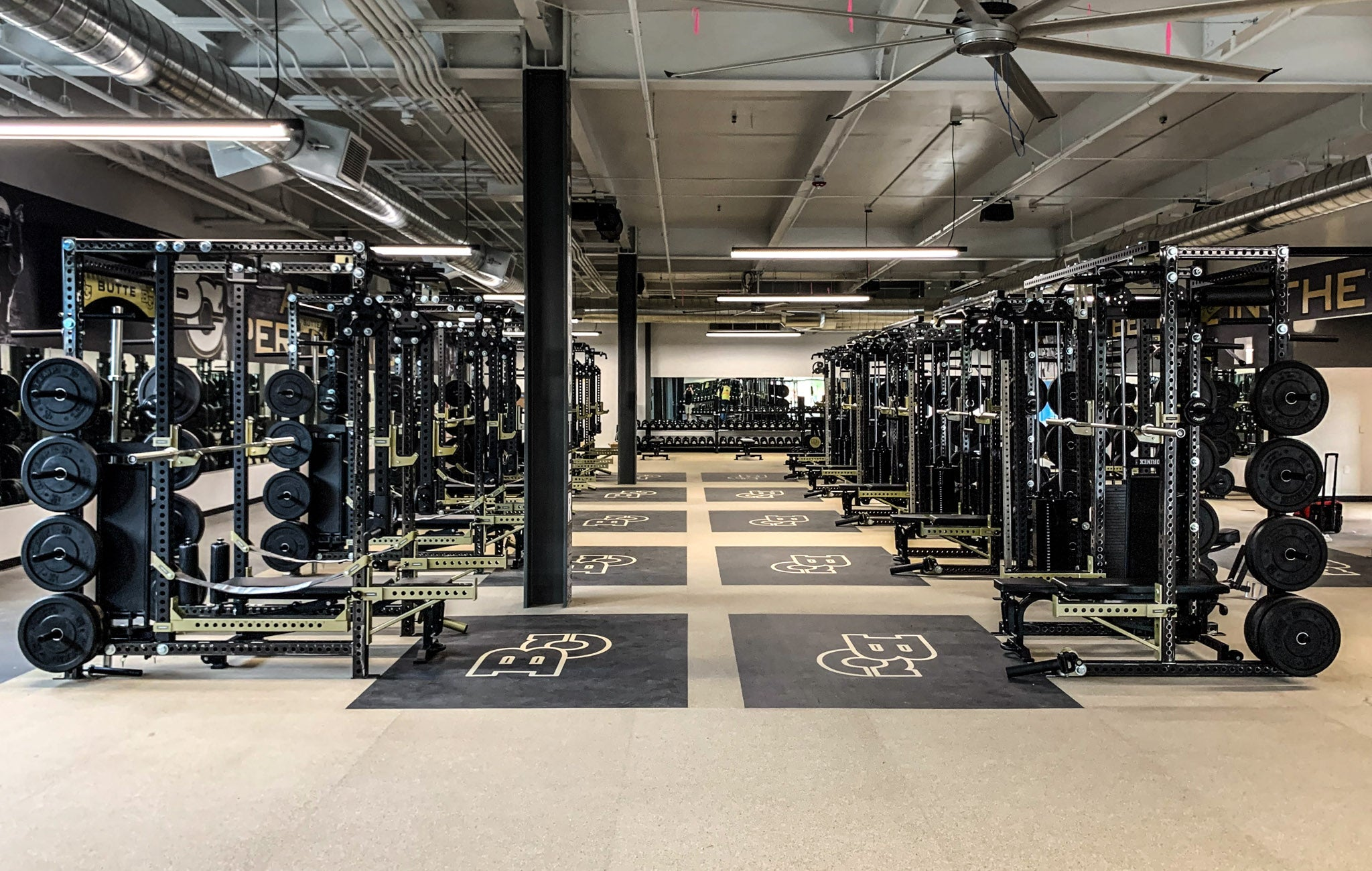 Butte Community College Football Weight Room