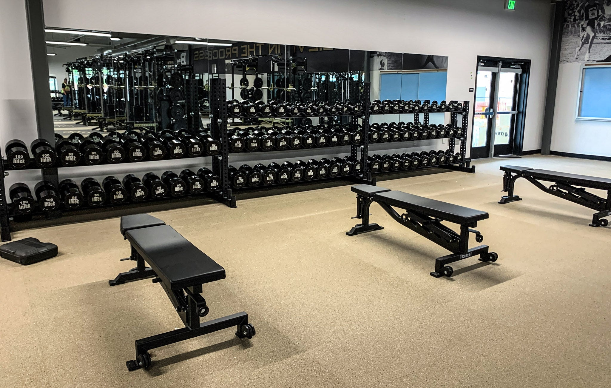 Butte football training facility