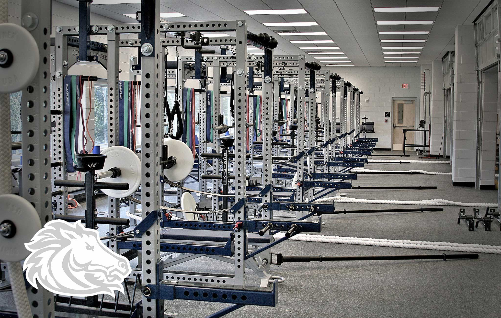 COAHULLA CREEK High School Sorinex strength and conditioning facility
