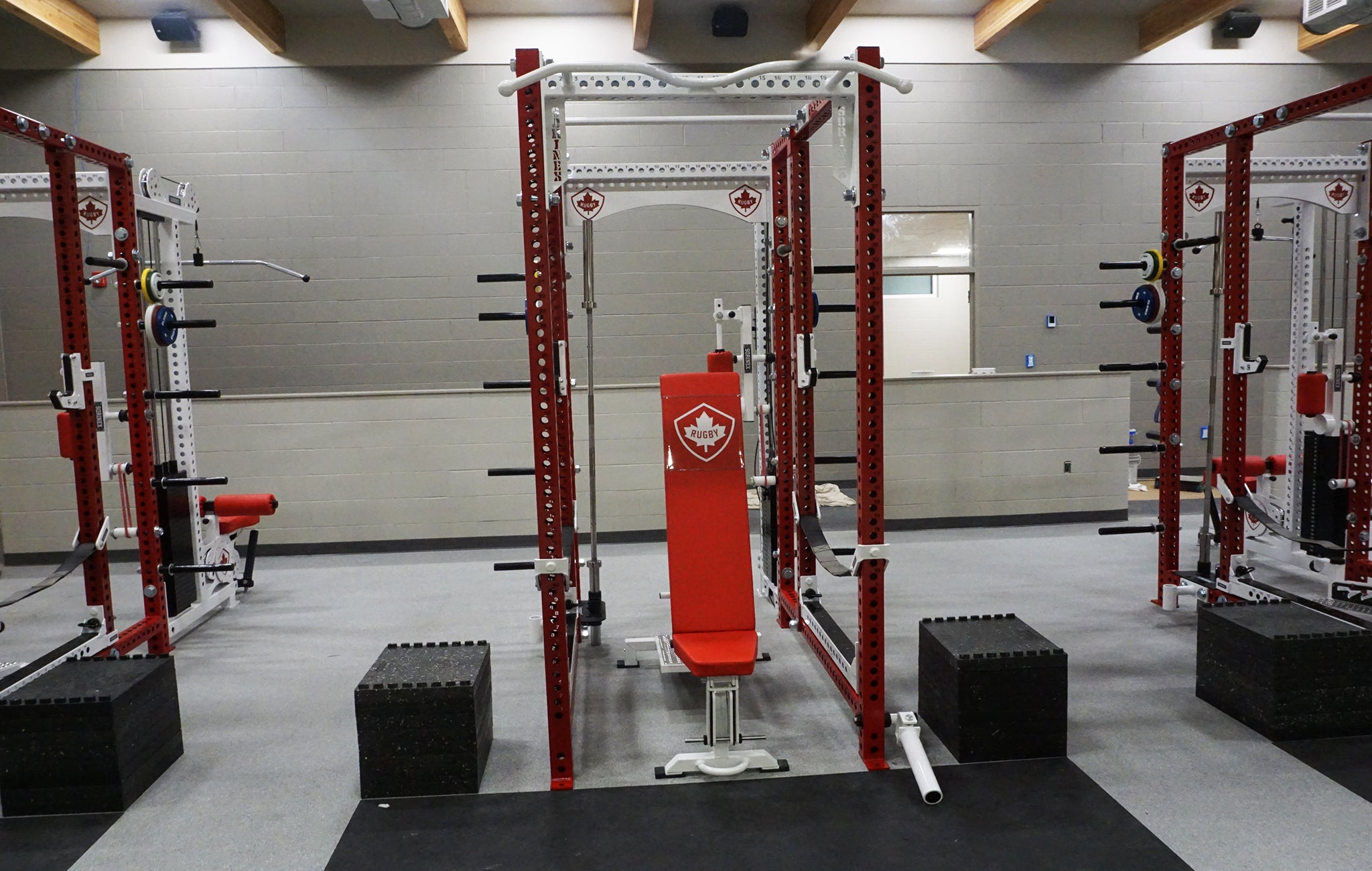 Rugby Canada strength training