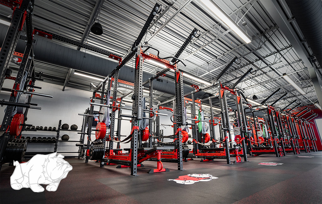 Canton McKinley High School Sorinex strength and conditioning facility
