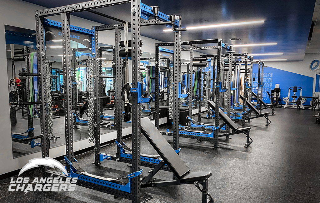 LA Chargers Sorinex strength and conditioning facility