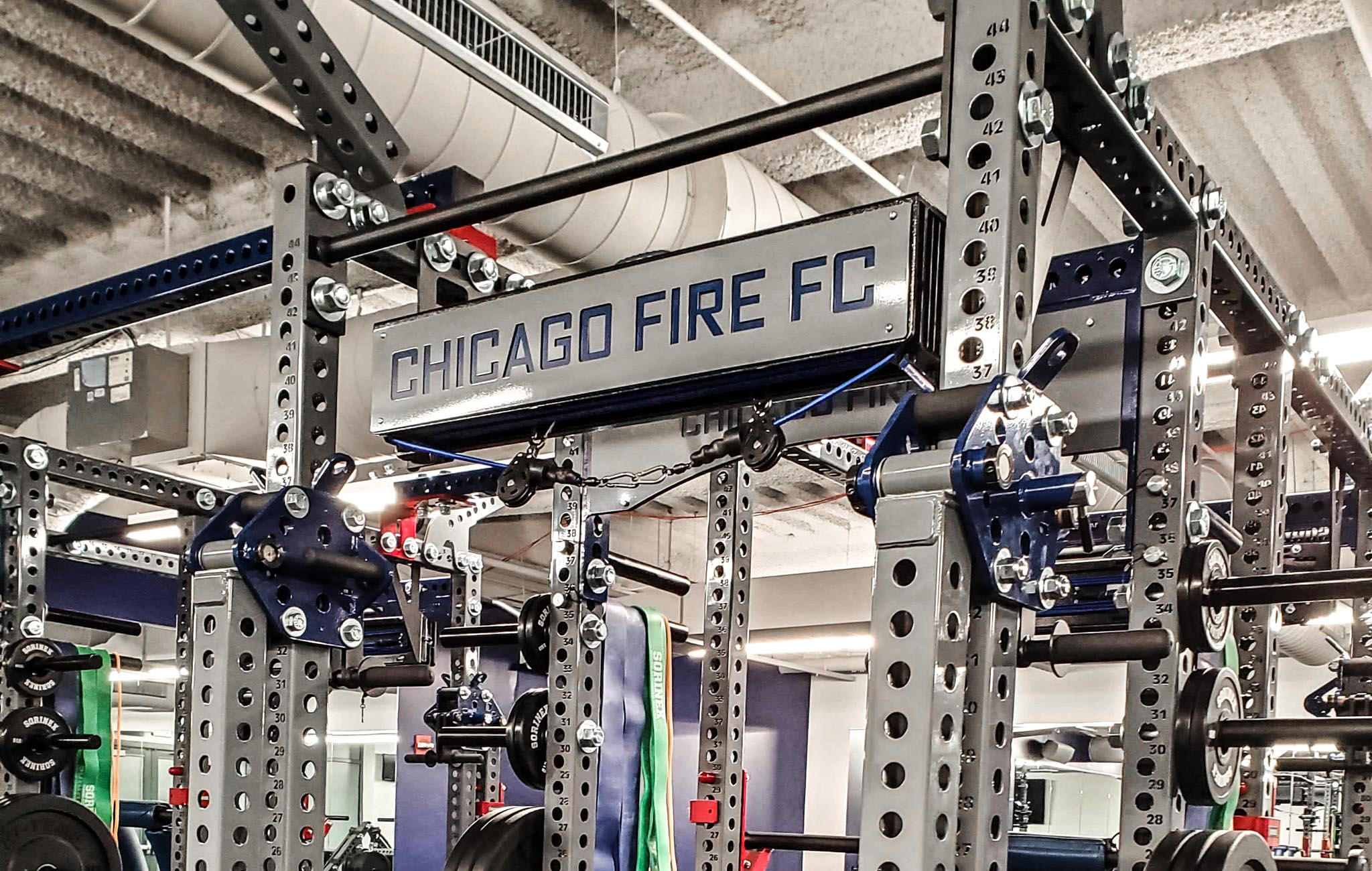Chicago Fire Soccer strength and conditioning