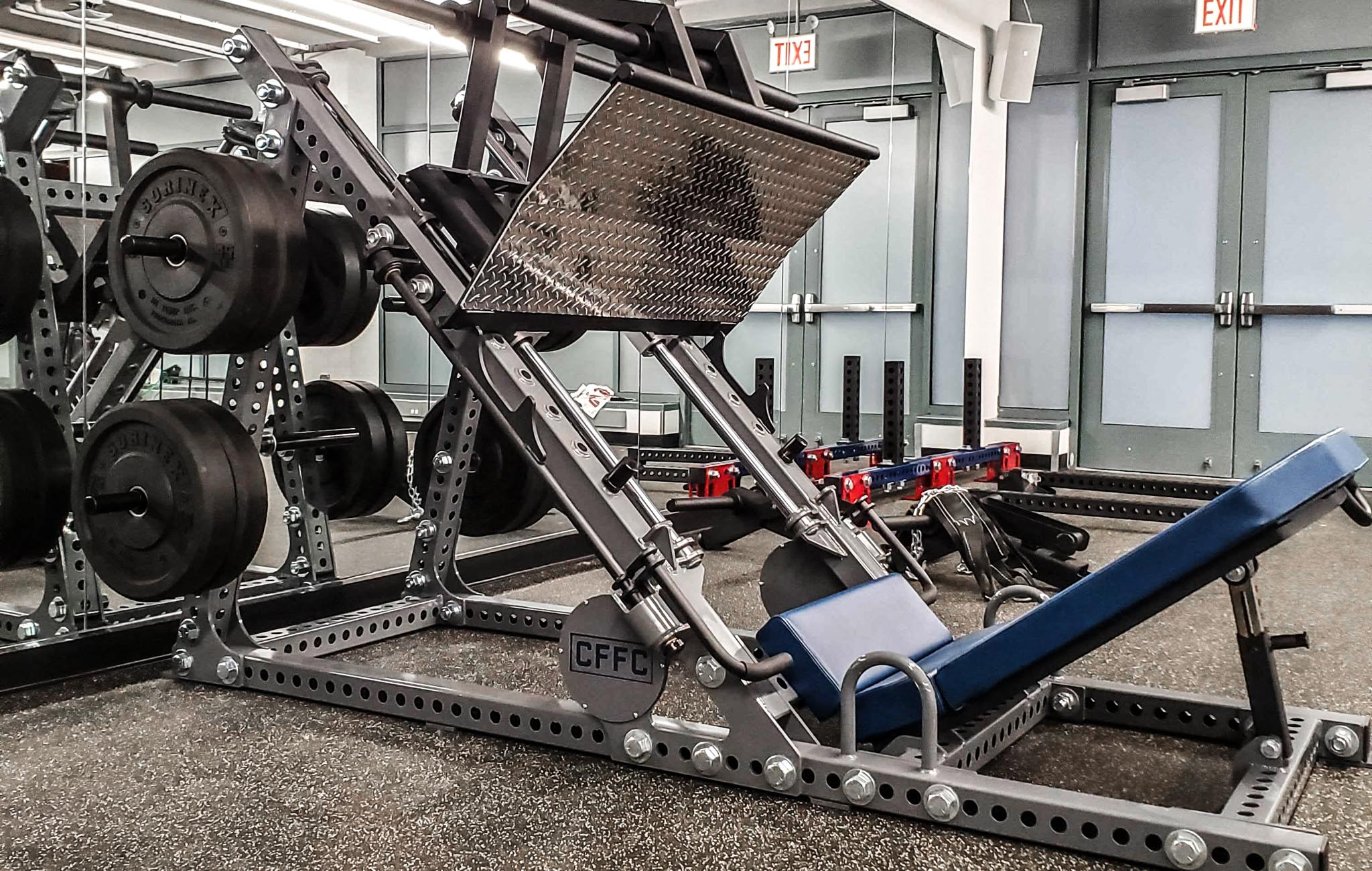 Chicago Fire Soccer Sorinex Weight Room