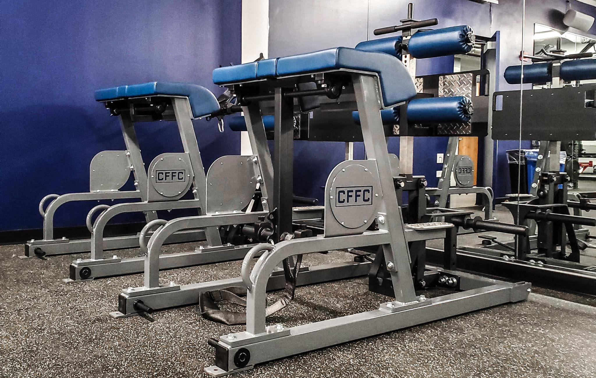 Sorinex professional soccer weight rooms