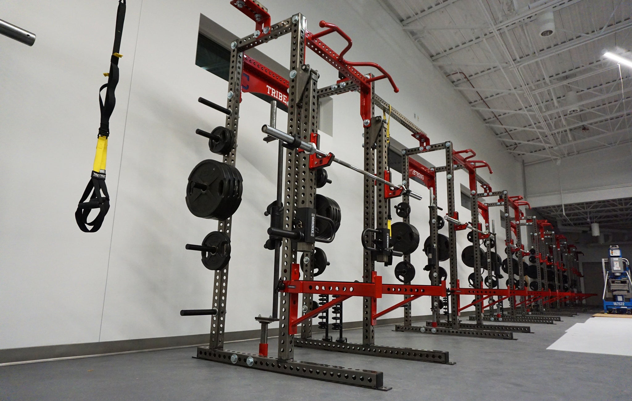 Cleveland Indians Weight Room