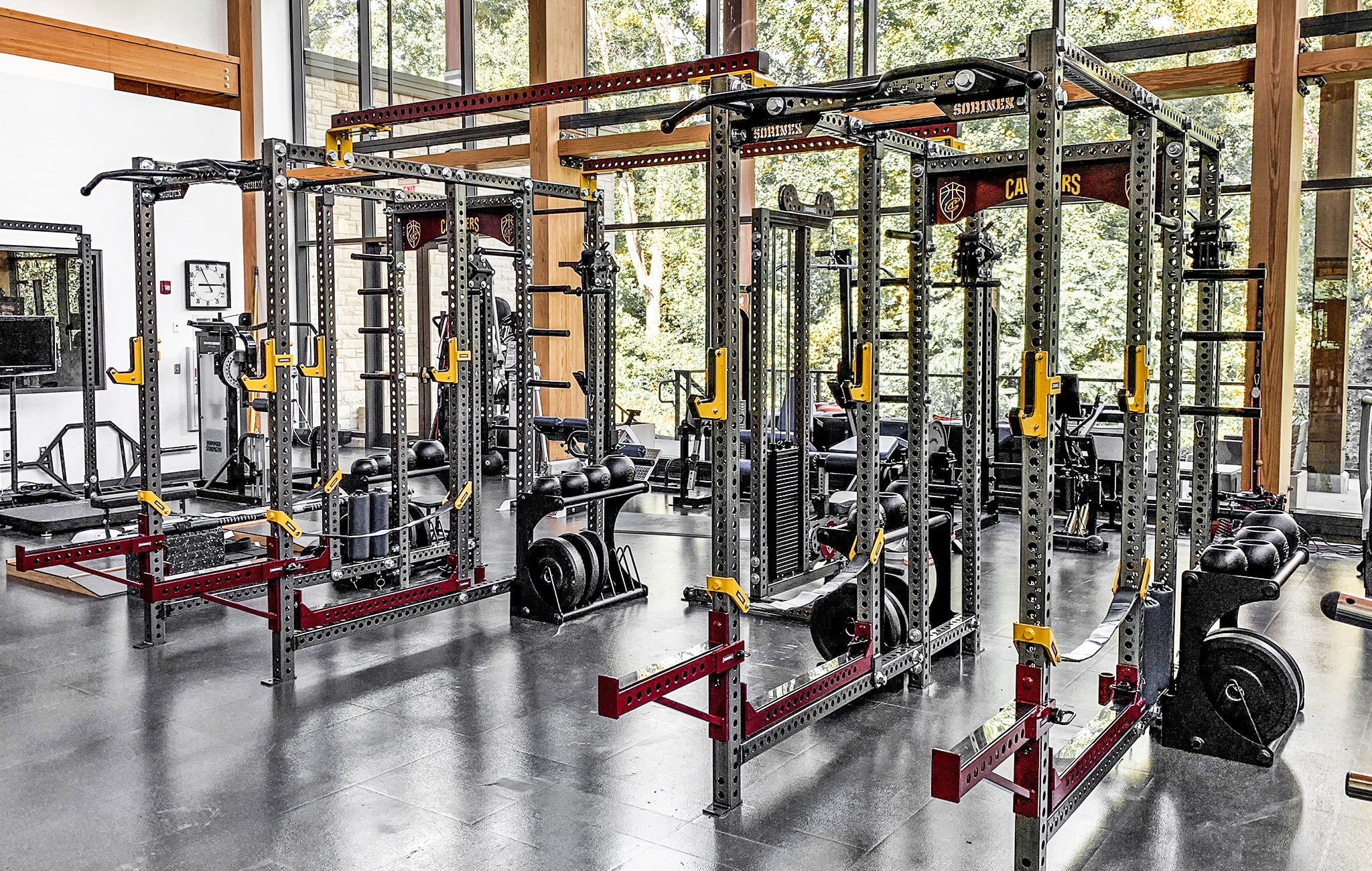 Cleveland Cavaliers Weight Room