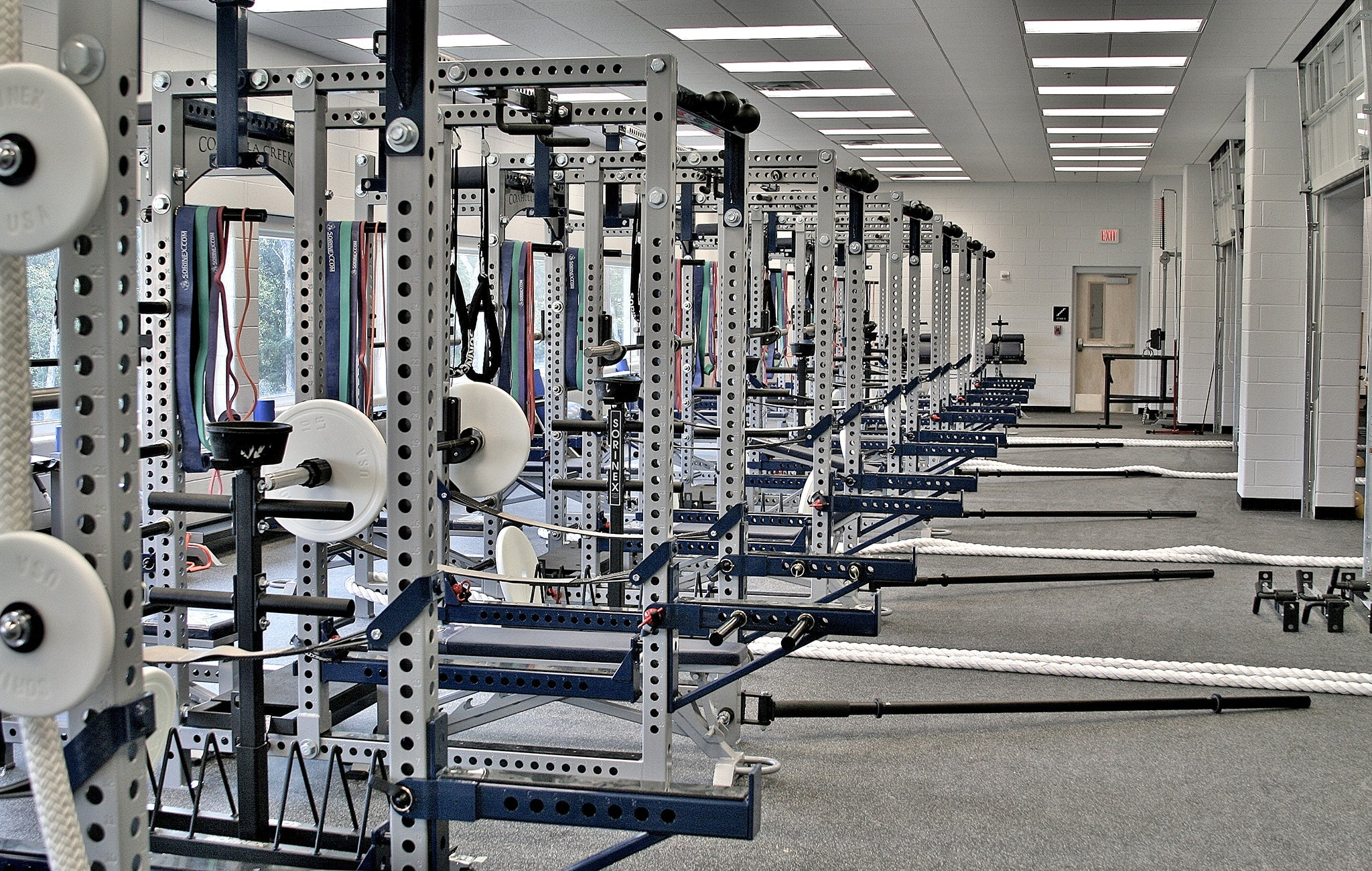Coahulla Creek High School Weight Room