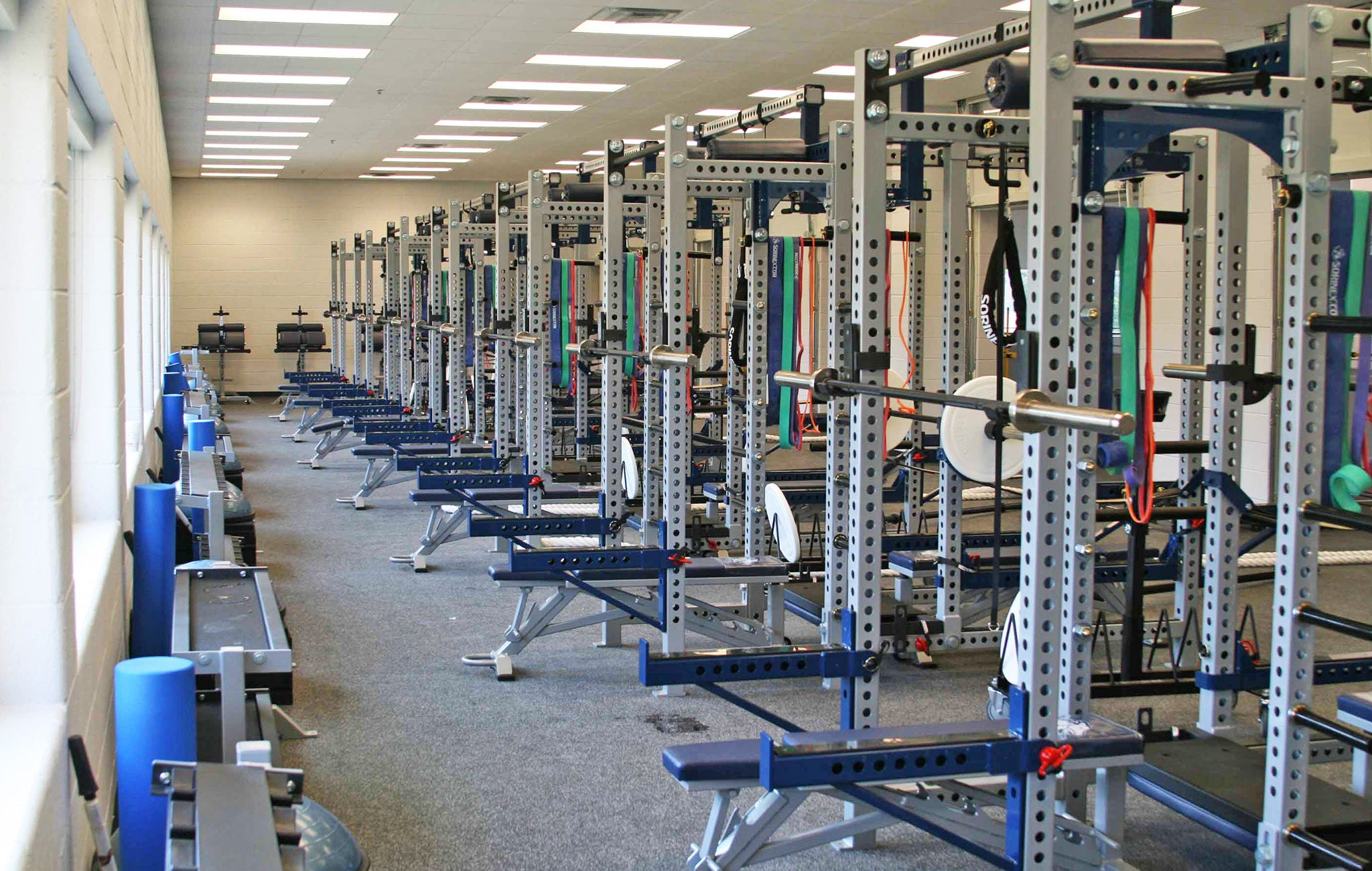 Coahulla Creek High School strength and conditioning