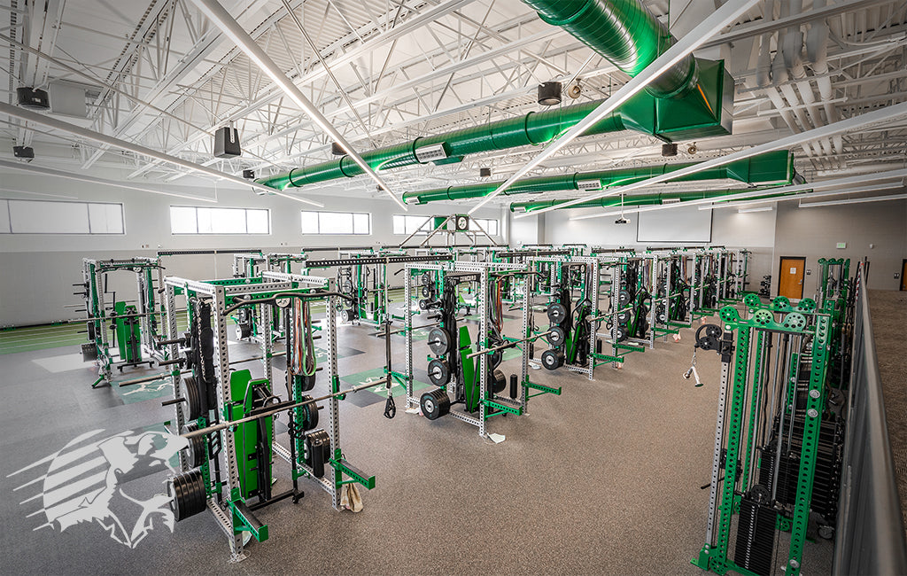 Concord high school Sorinex strength and conditioning facility