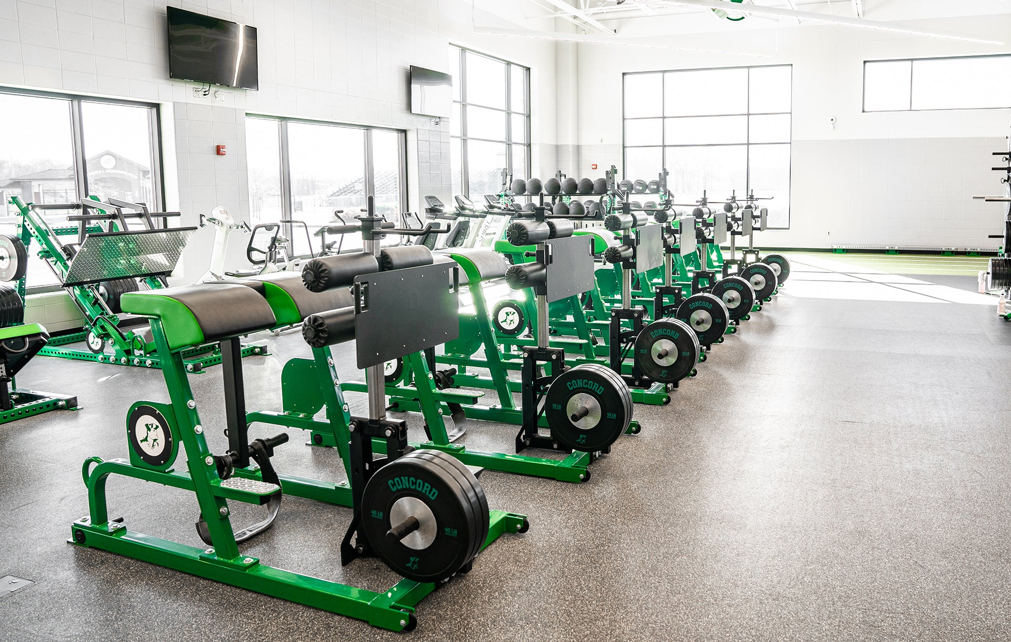 sorinex High School weight Rooms