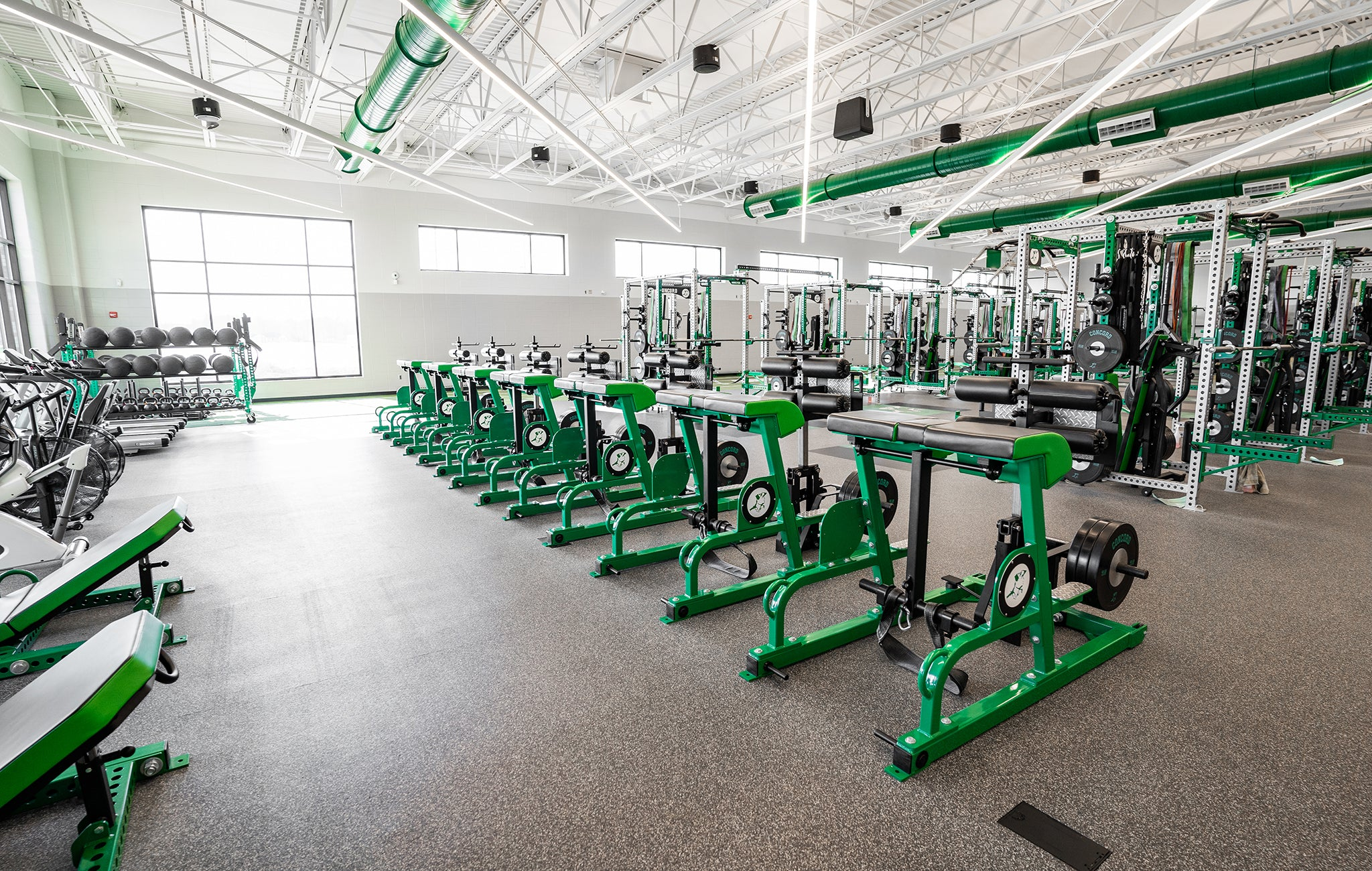 Concord High School Weight Room