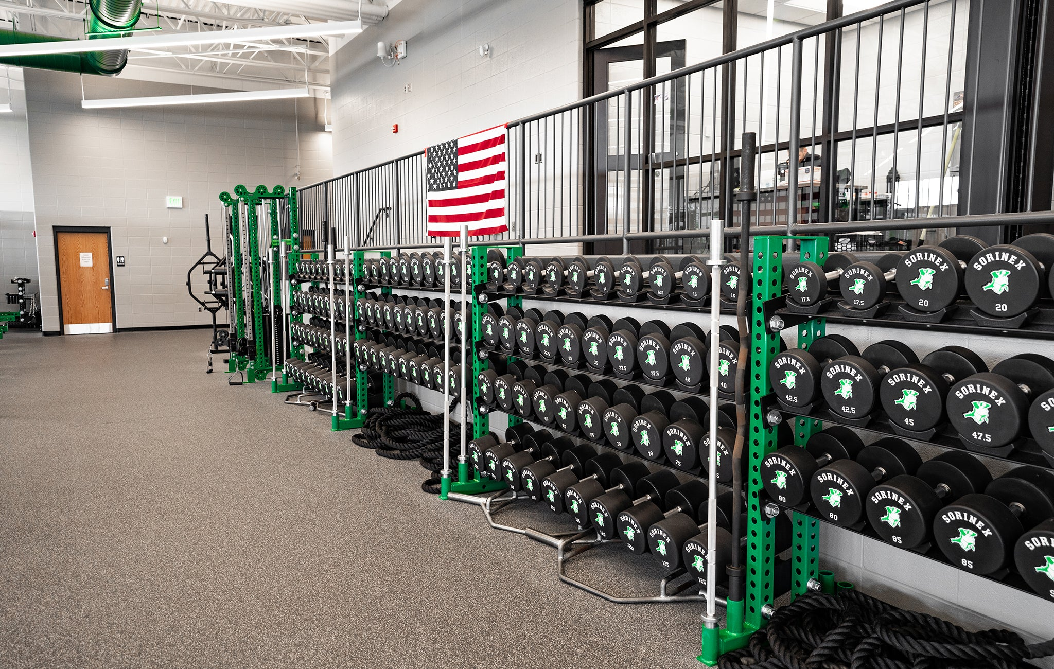Concord High School strength and conditioning
