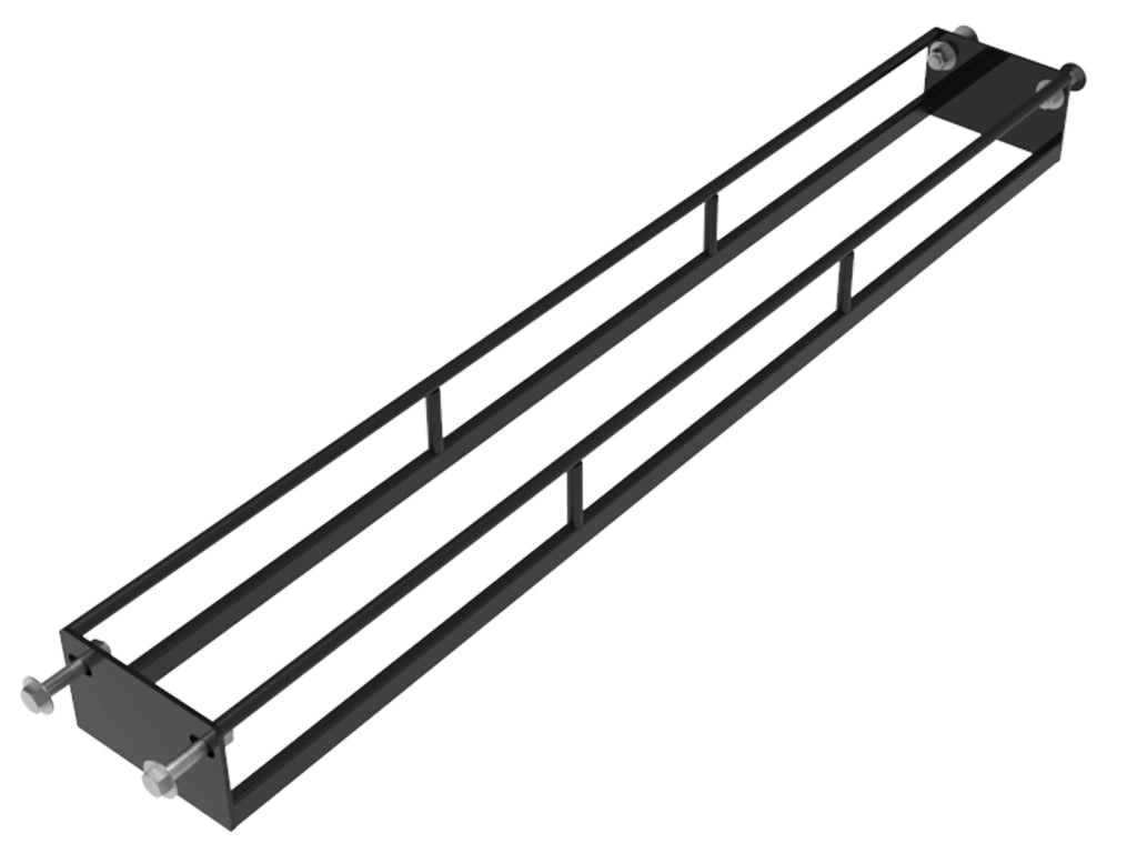 rack connected weight storage