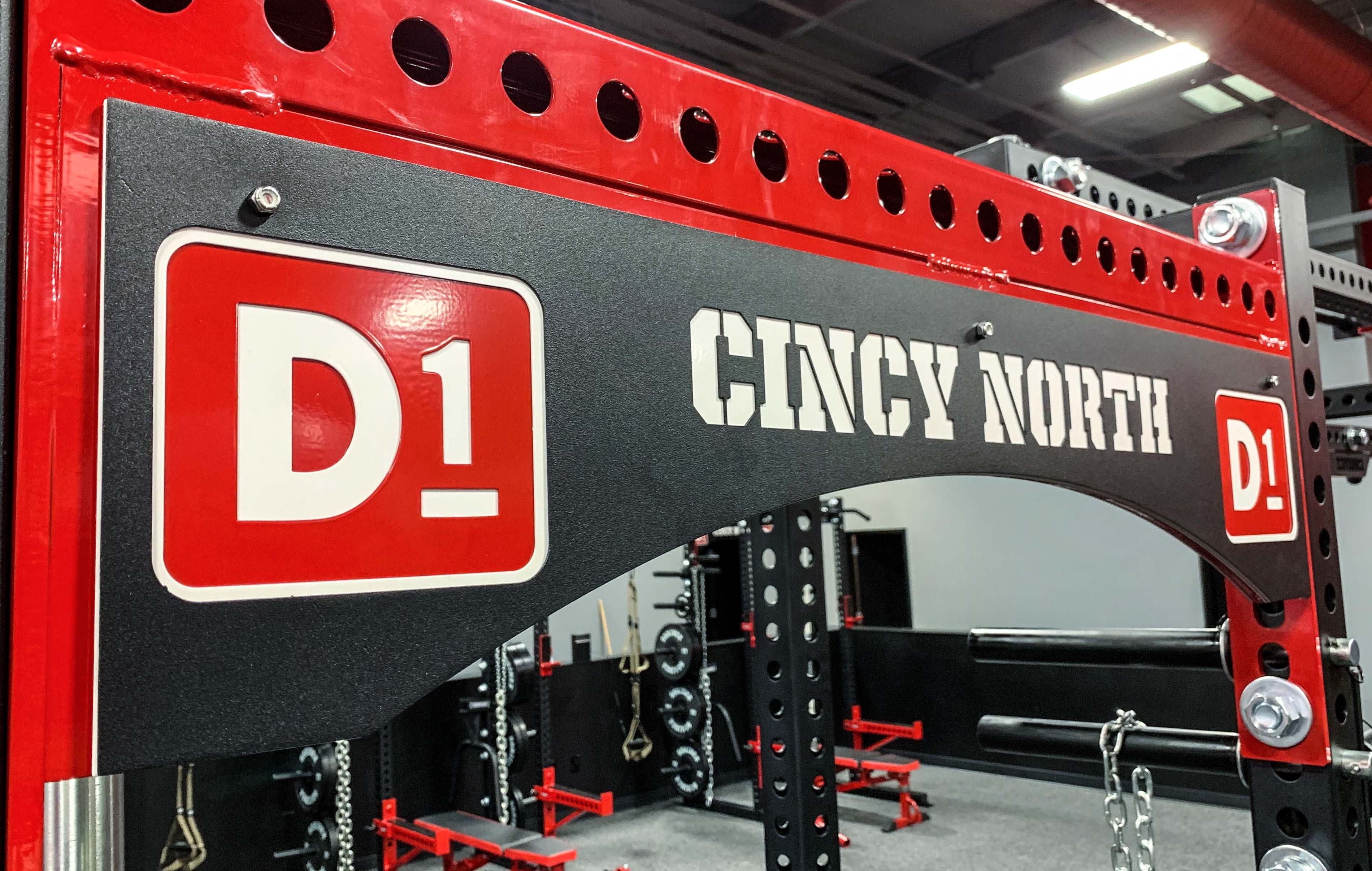D1 Training Cincy North Weight Room