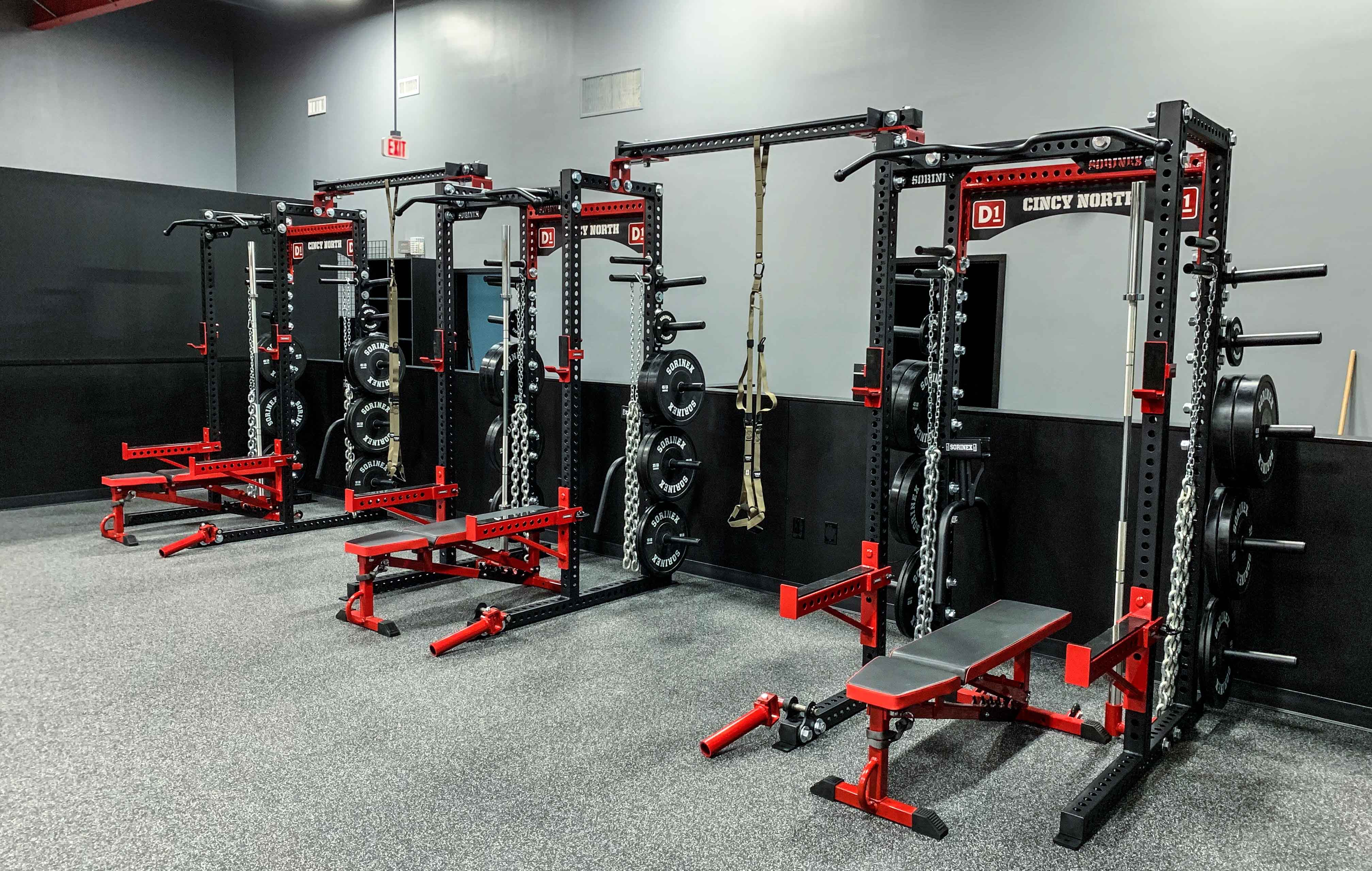 Cincy North power racks